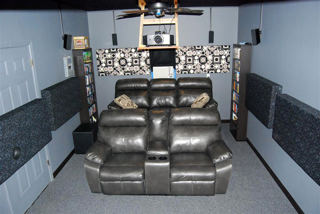 Garage Theater 206 Photos, Garage Home Theater