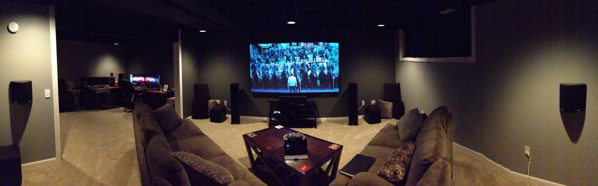 Qrf Uproar S Home Theater Gallery Ht Before And After 20 Photos