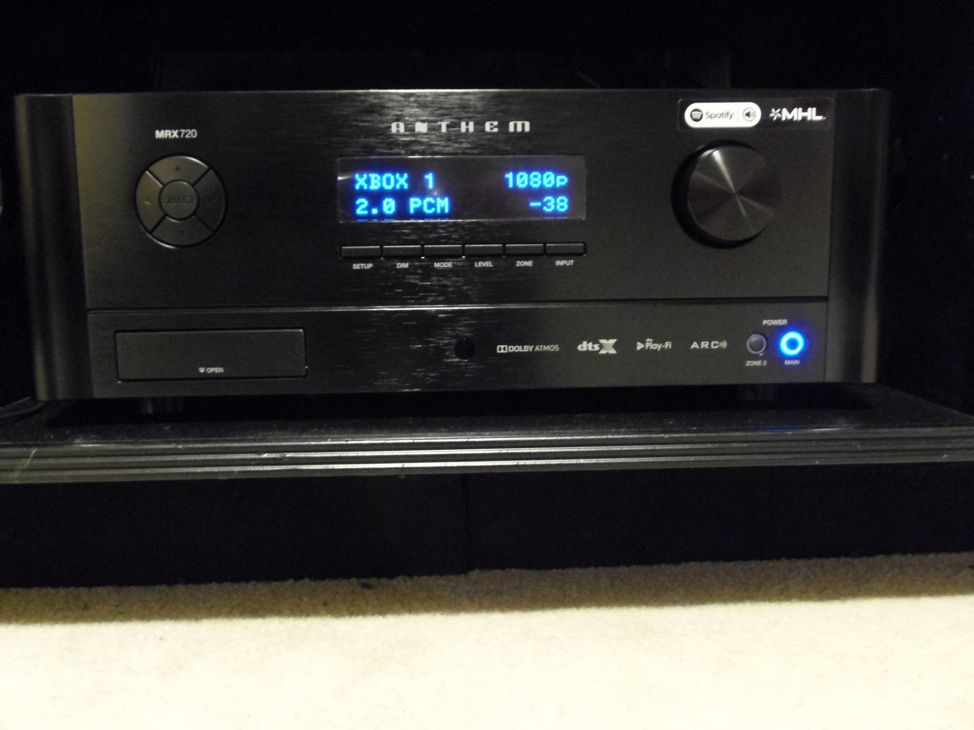 Anthem MRX Series 1120, 720 & 520 A/V Receivers Thread - Blu