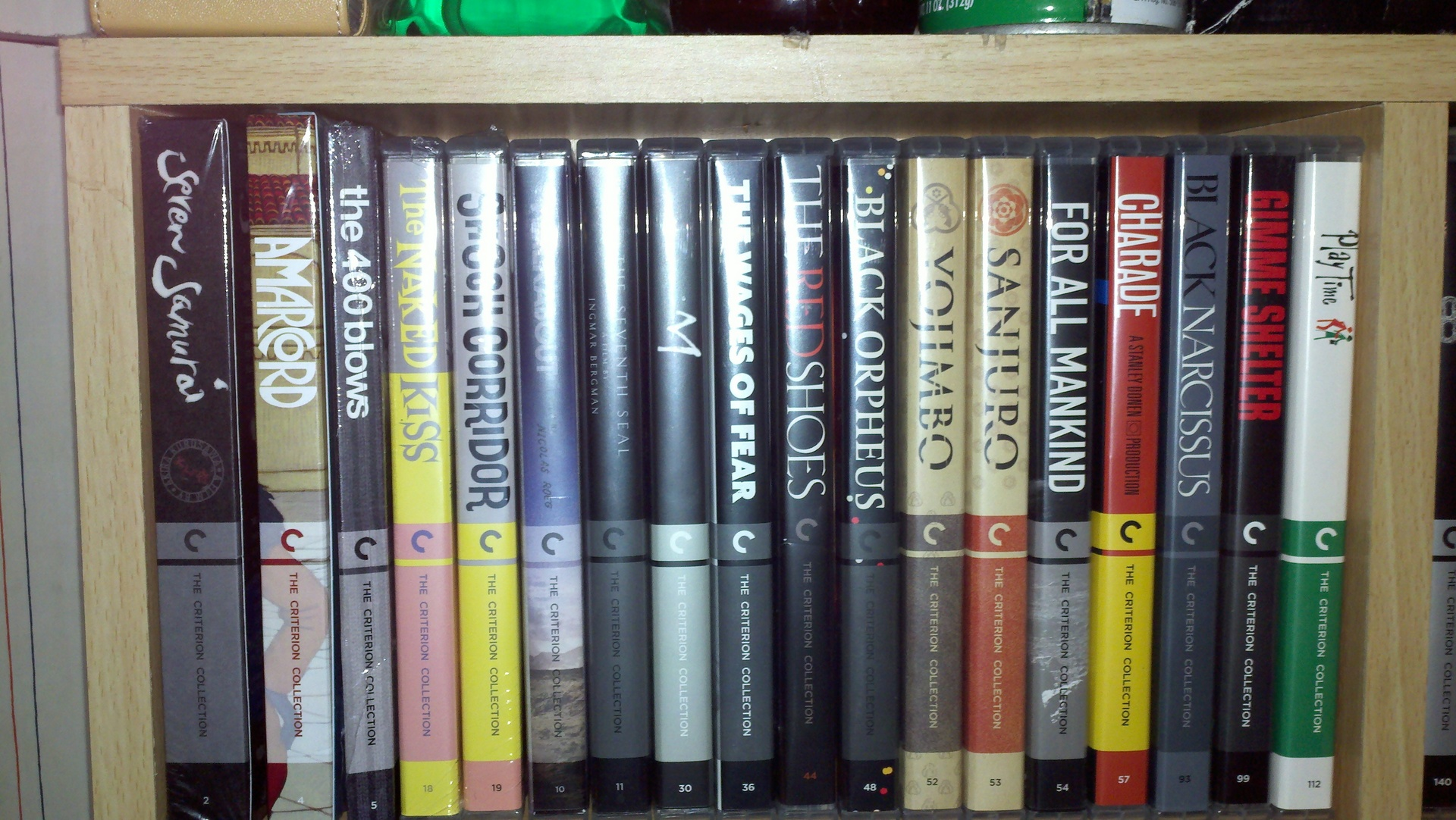 seppuku2's home theater gallery - criterion blu/ blu collection (12