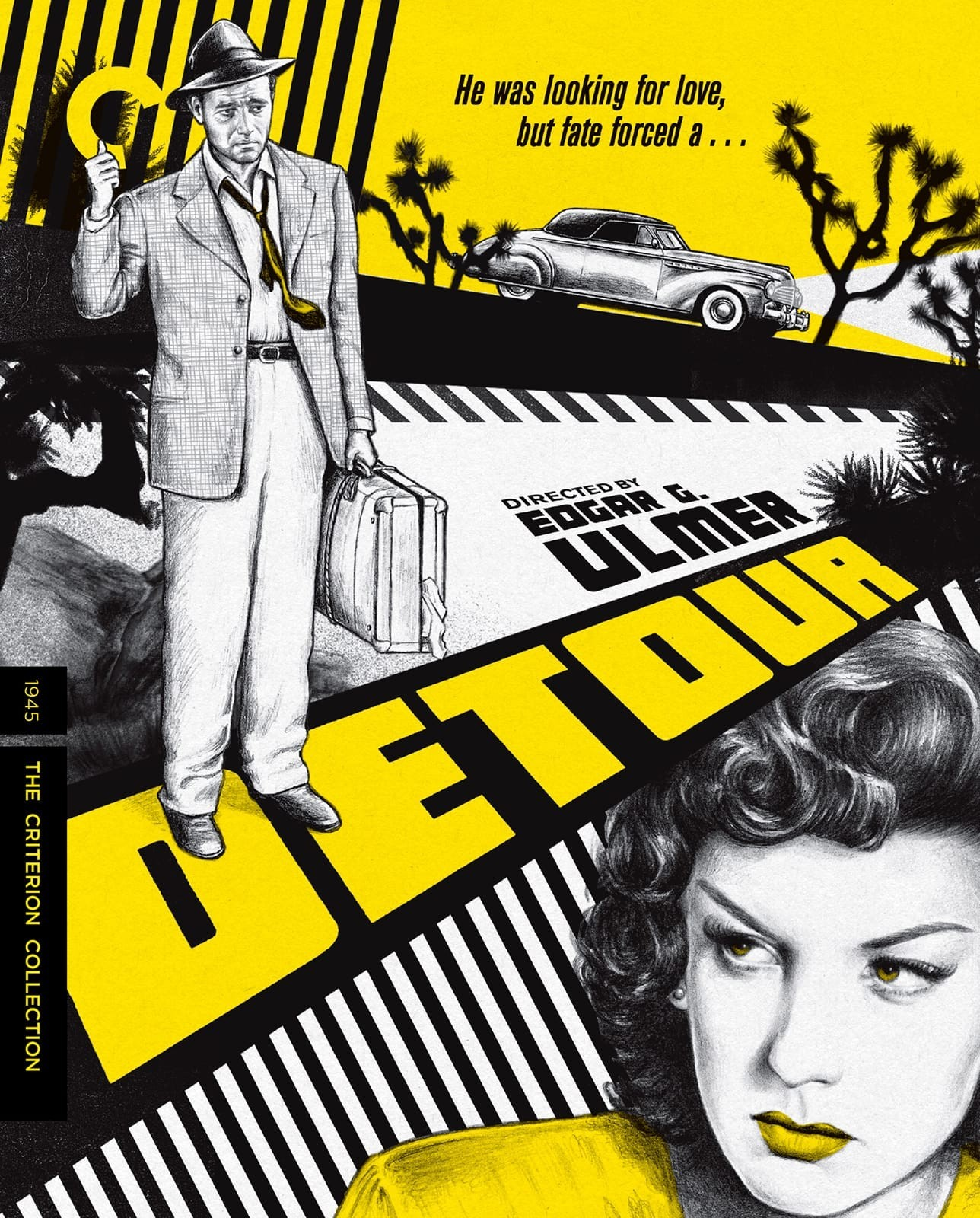 Detour (The Criterion Collection)(Blu-ray)(Region A)