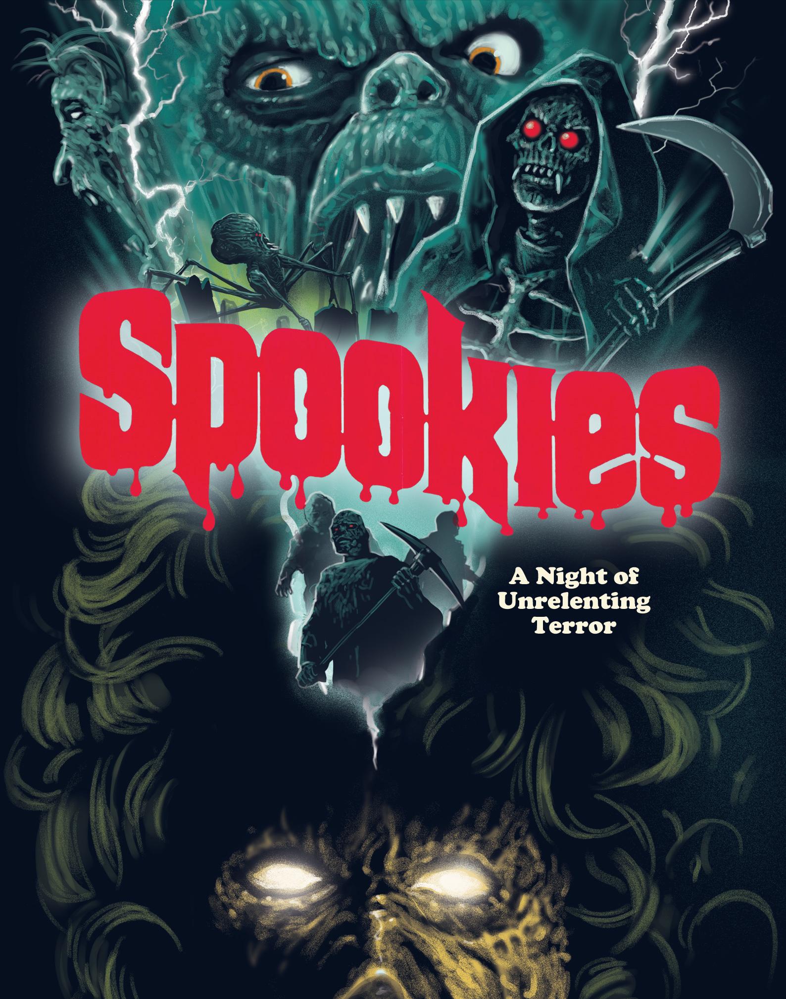 Spookies Blu-ray