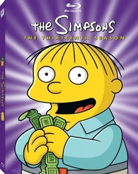 The Simpsons The Thirteenth Season Blu Ray Release Date August 24 2010