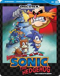 Adventures Of Sonic The Hedgehog Blu Ray