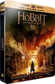 The Hobbit: The Battle of the Five Armies 3D Blu-ray (France)
