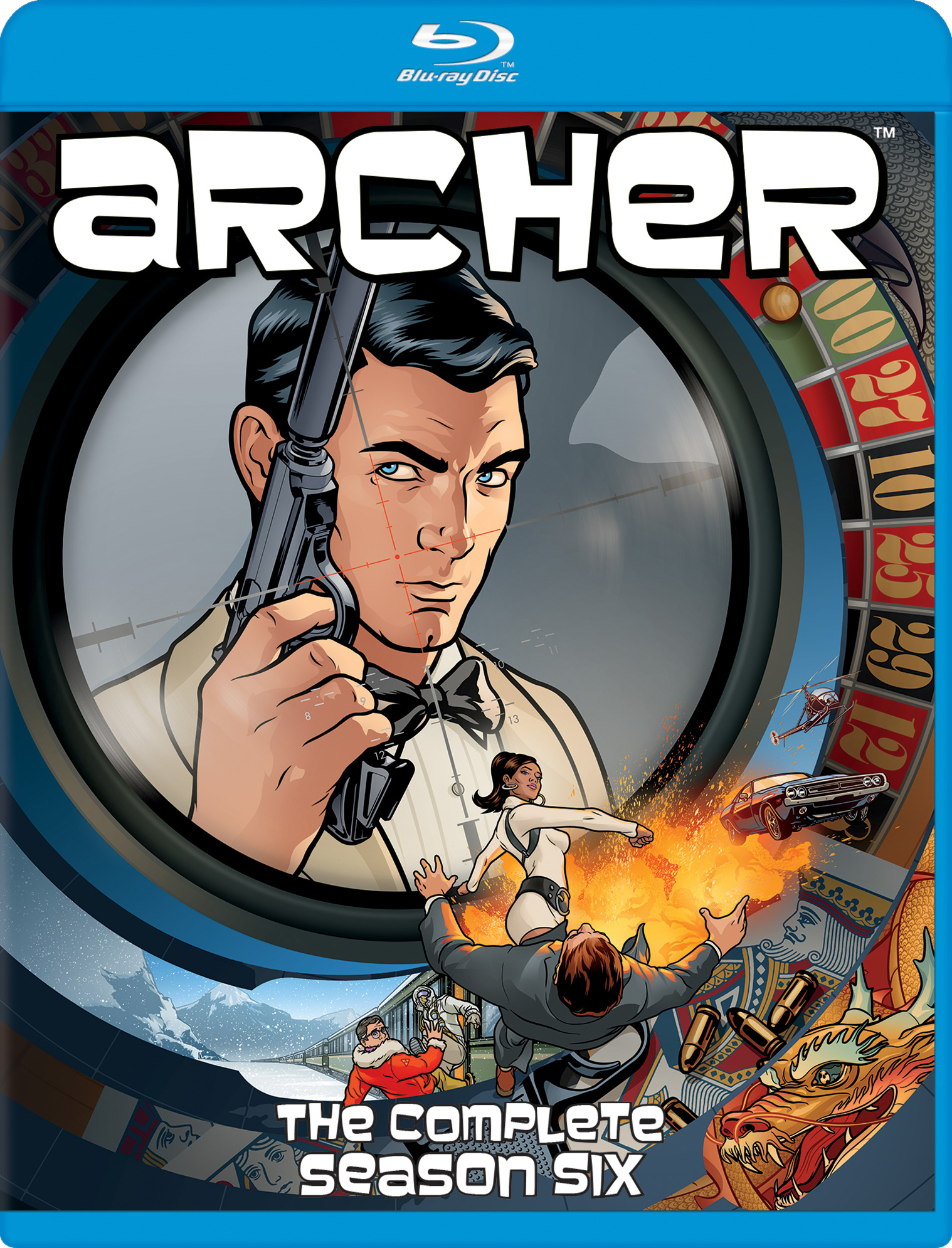Archer: The Complete Season Six (TV) (2015) Blu-ray