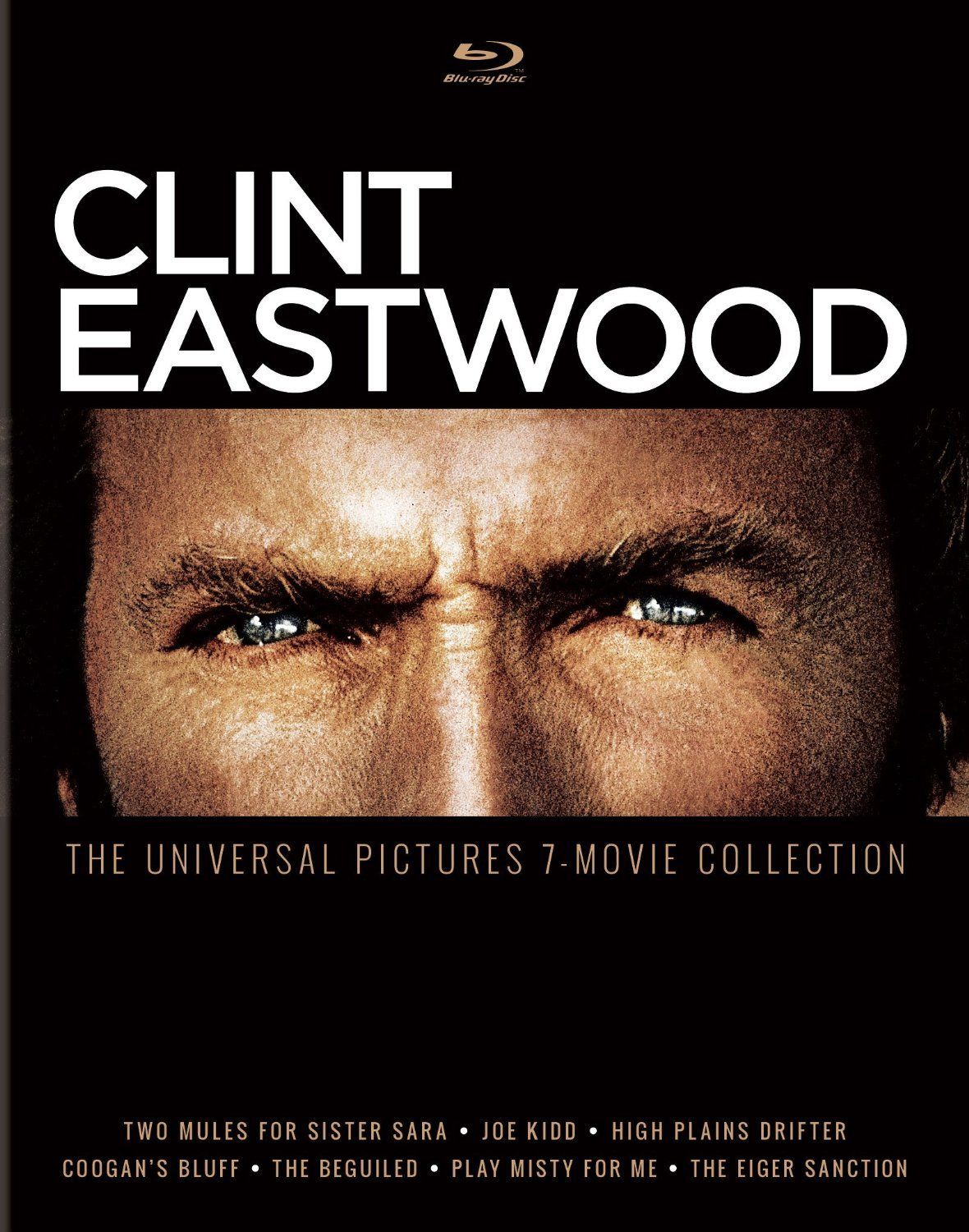 Clint Eastwood: The Universal Pictures 7-Movie Collection (1968-1975) Blu-ray