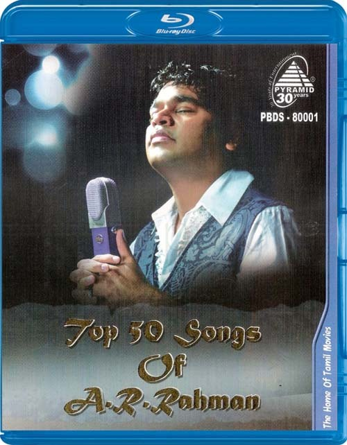 Top 50 Songs Of A.R Rahman 2013 Tamil PYD Blu-ray Remux 1080p AVC DD 5.1