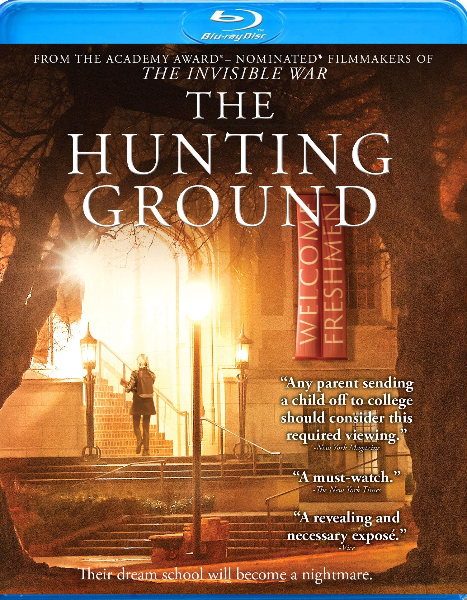 The Hunting Ground (2015) Blu-ray