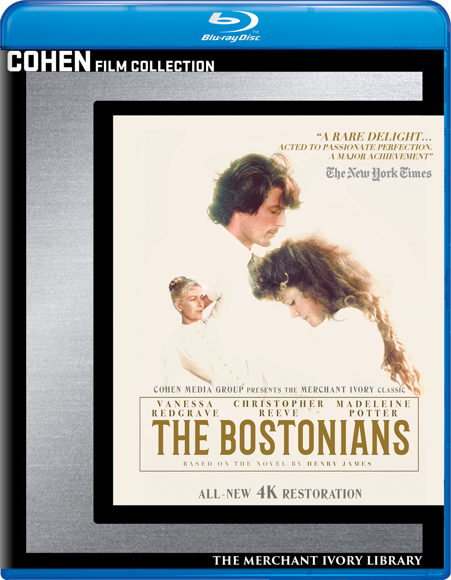 The Bostonians (Blu-ray)(Region A)