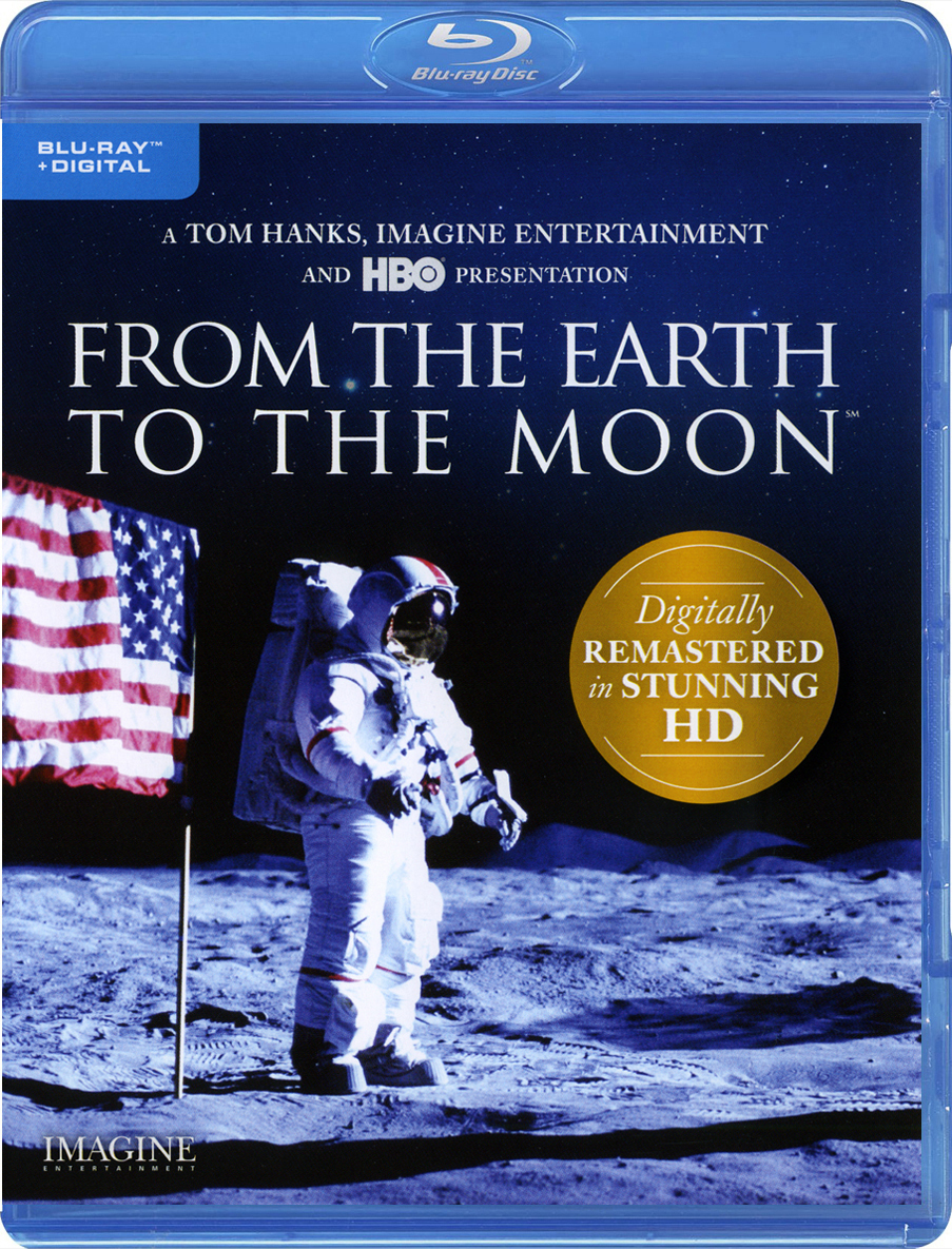 From the Earth to the Moon (Mini-Series)(Blu-ray)(Region Free)(Pre-order / Jul 16)
