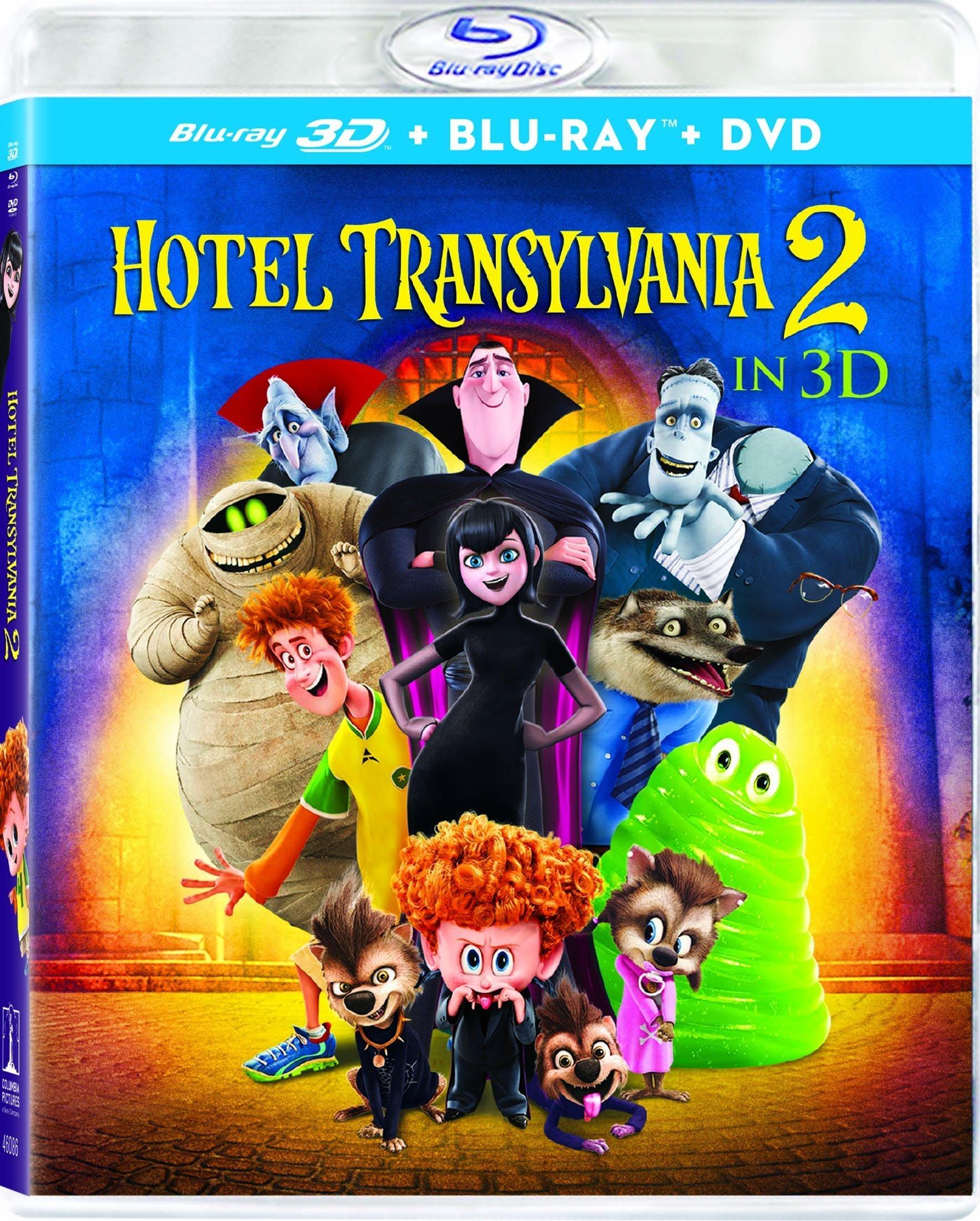 Hotel Transylvania 2 3D (2015) Blu-ray 3D