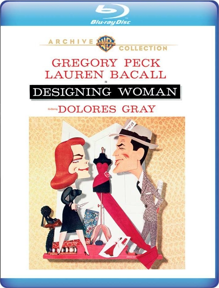 Designing Woman (Warner Archive Collection)(1957) Blu-ray