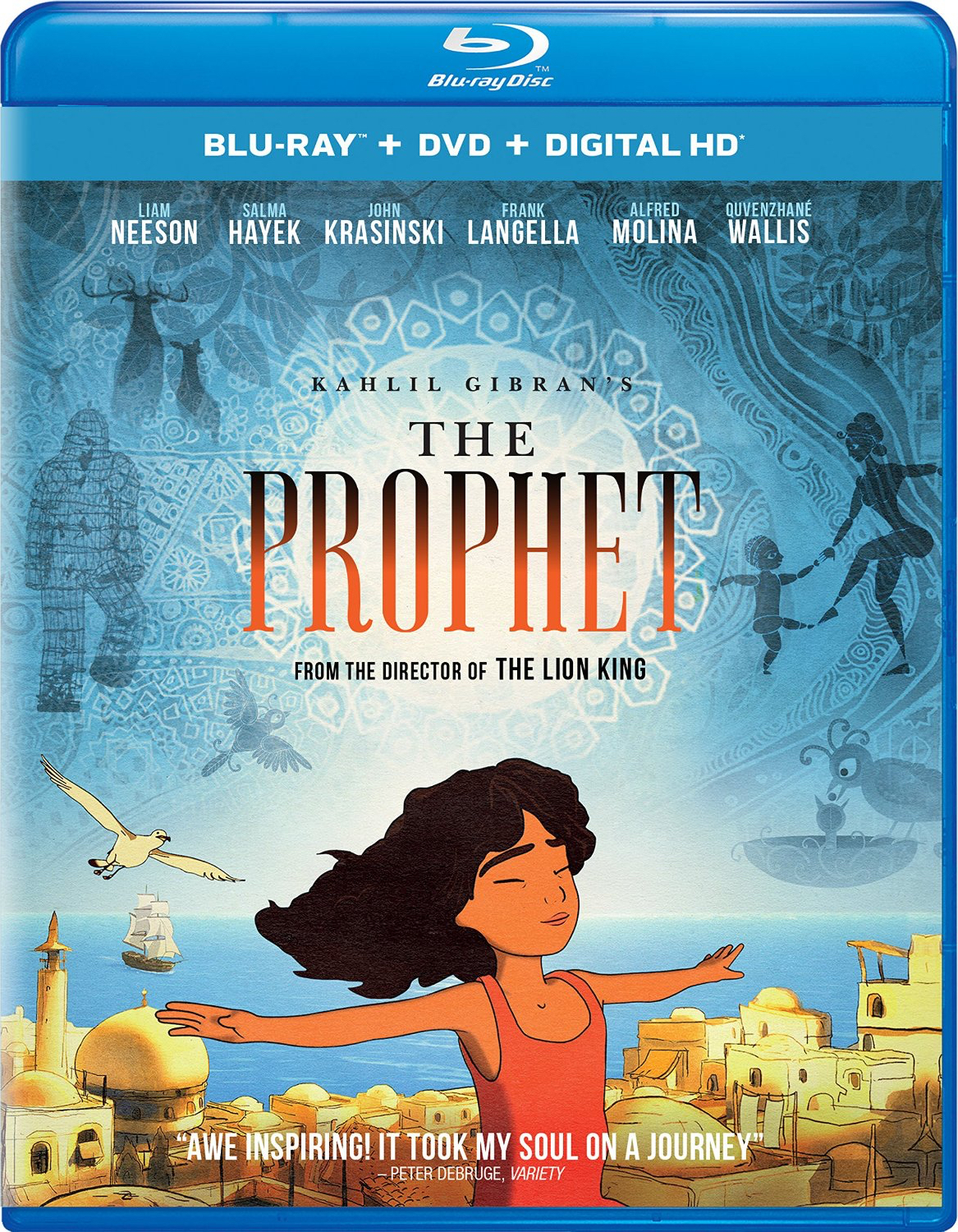 Kahlil Gibran's The Prophet (2014) Blu-ray