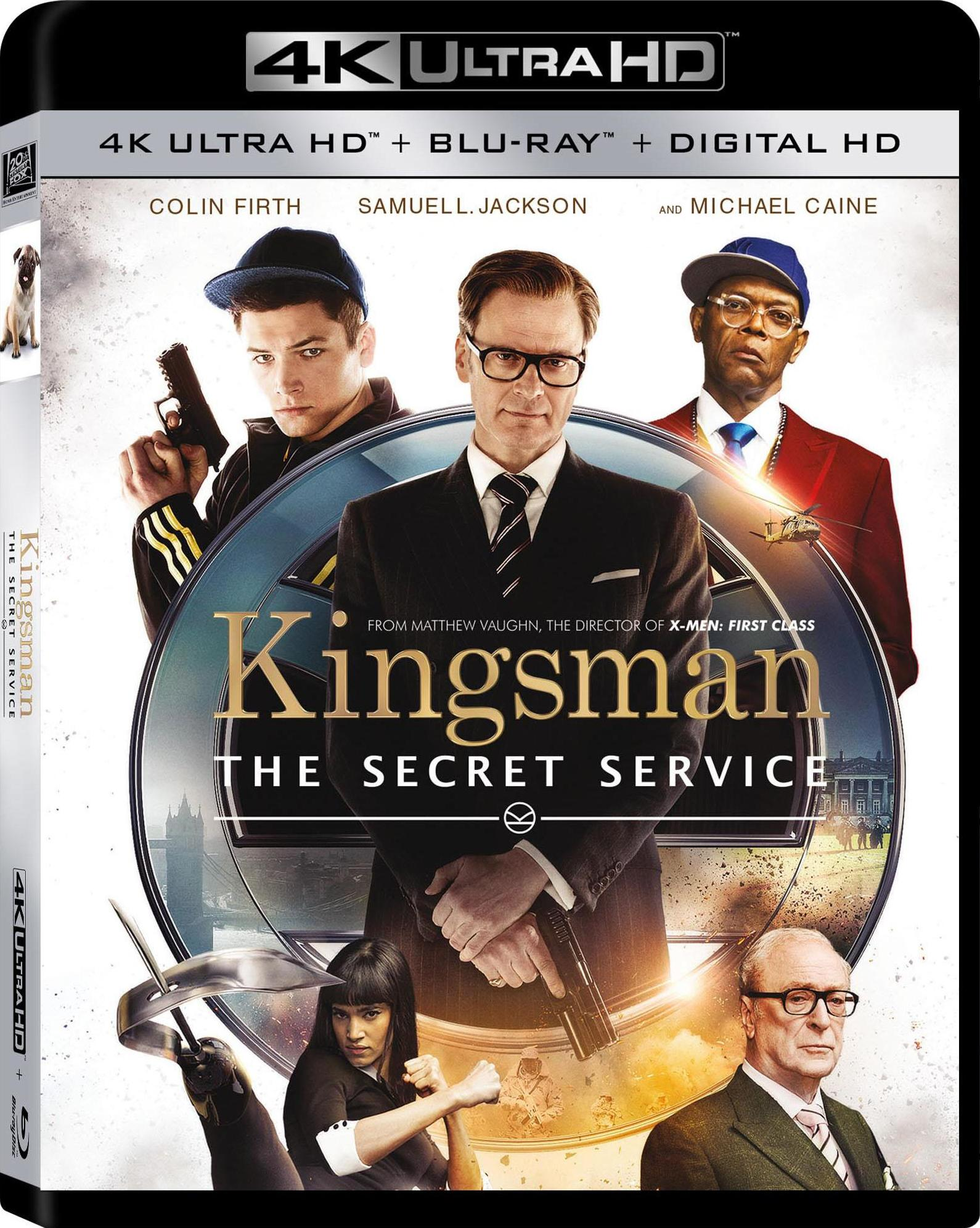 Kingsman: The Secret Service (2015) 4K Ultra HD Blu-ray