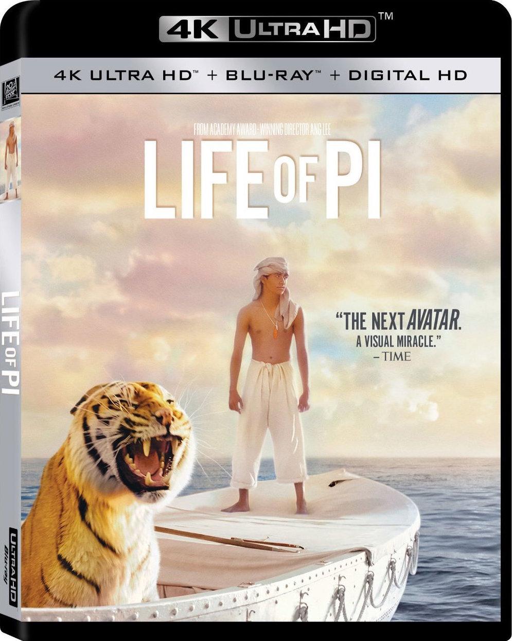 Life of Pi (2012) 4K Ultra HD Blu-ray