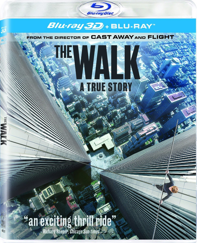 The Walk 3D (2015) Blu-ray