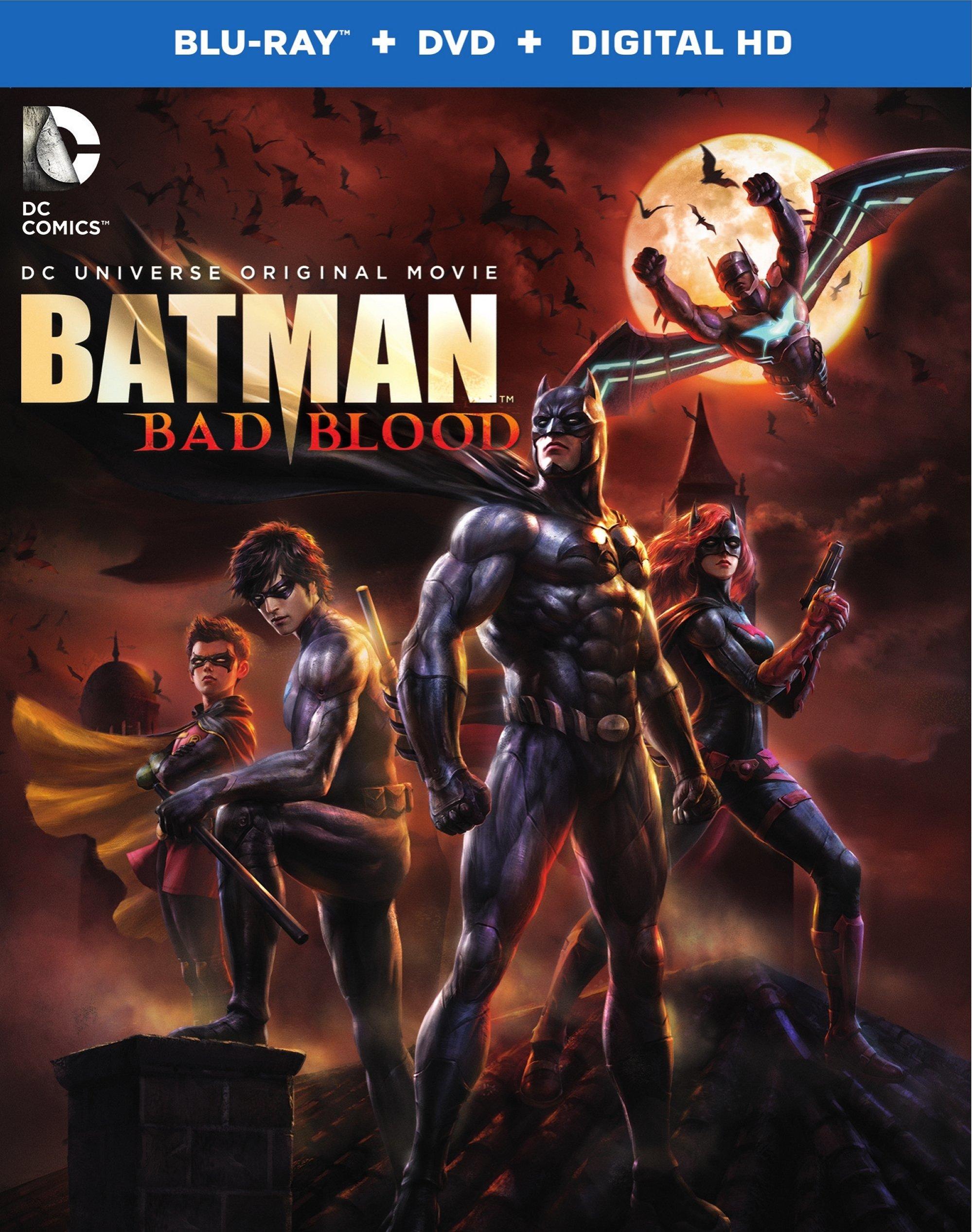 Batman: Bad Blood (2016) Blu-ray