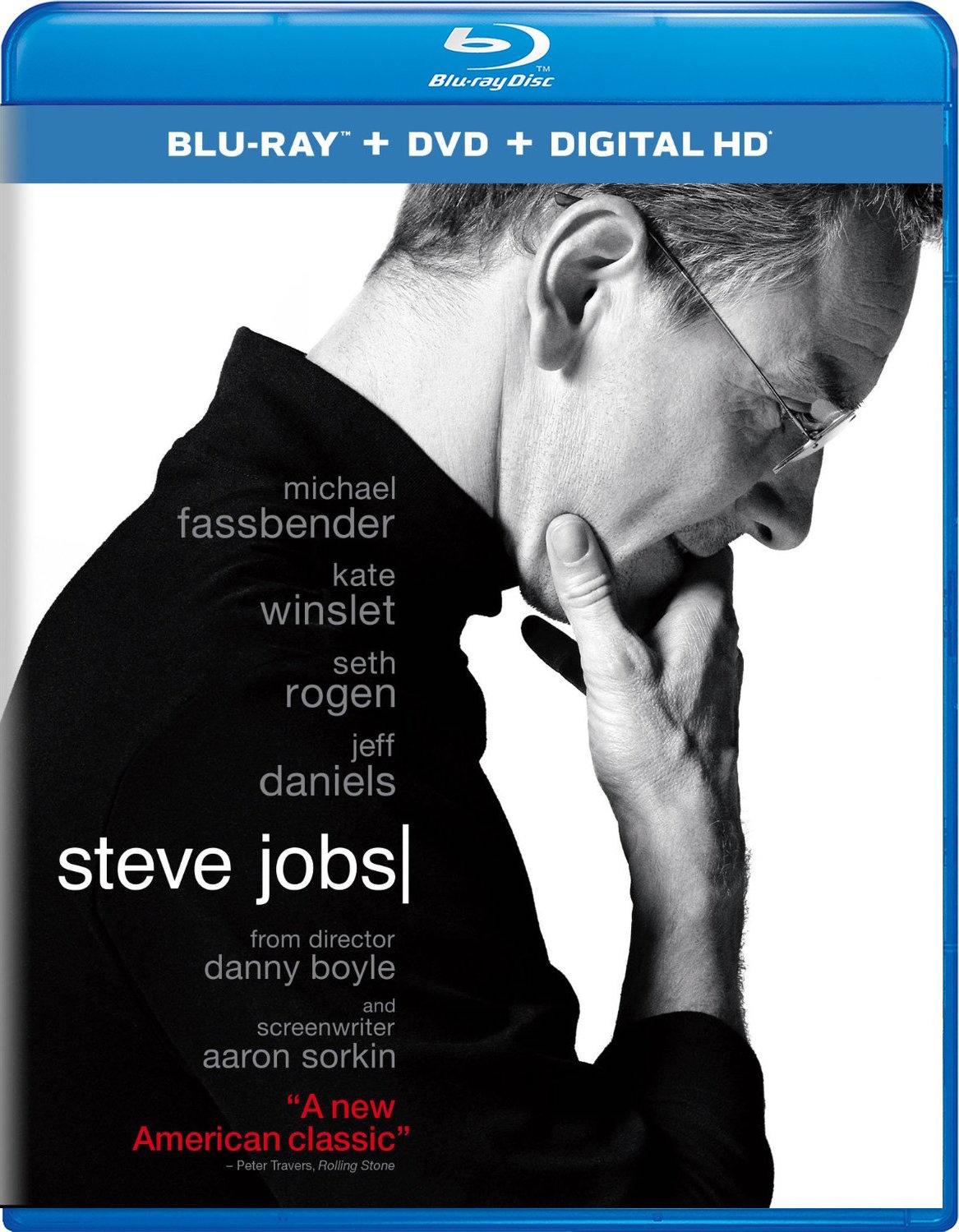 Steve Jobs (2015) Blu-ray