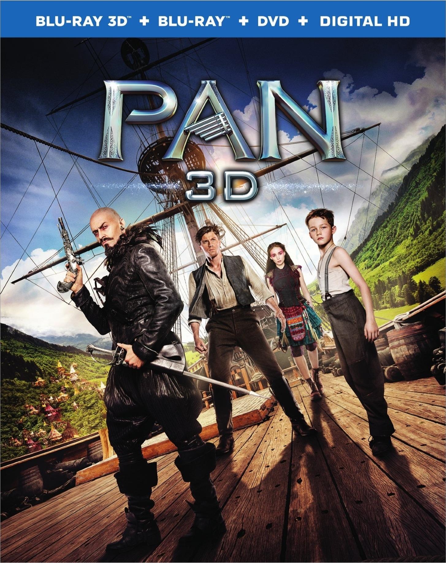 Pan 3D (2015) Blu-ray 3D (Dolby Atmos)