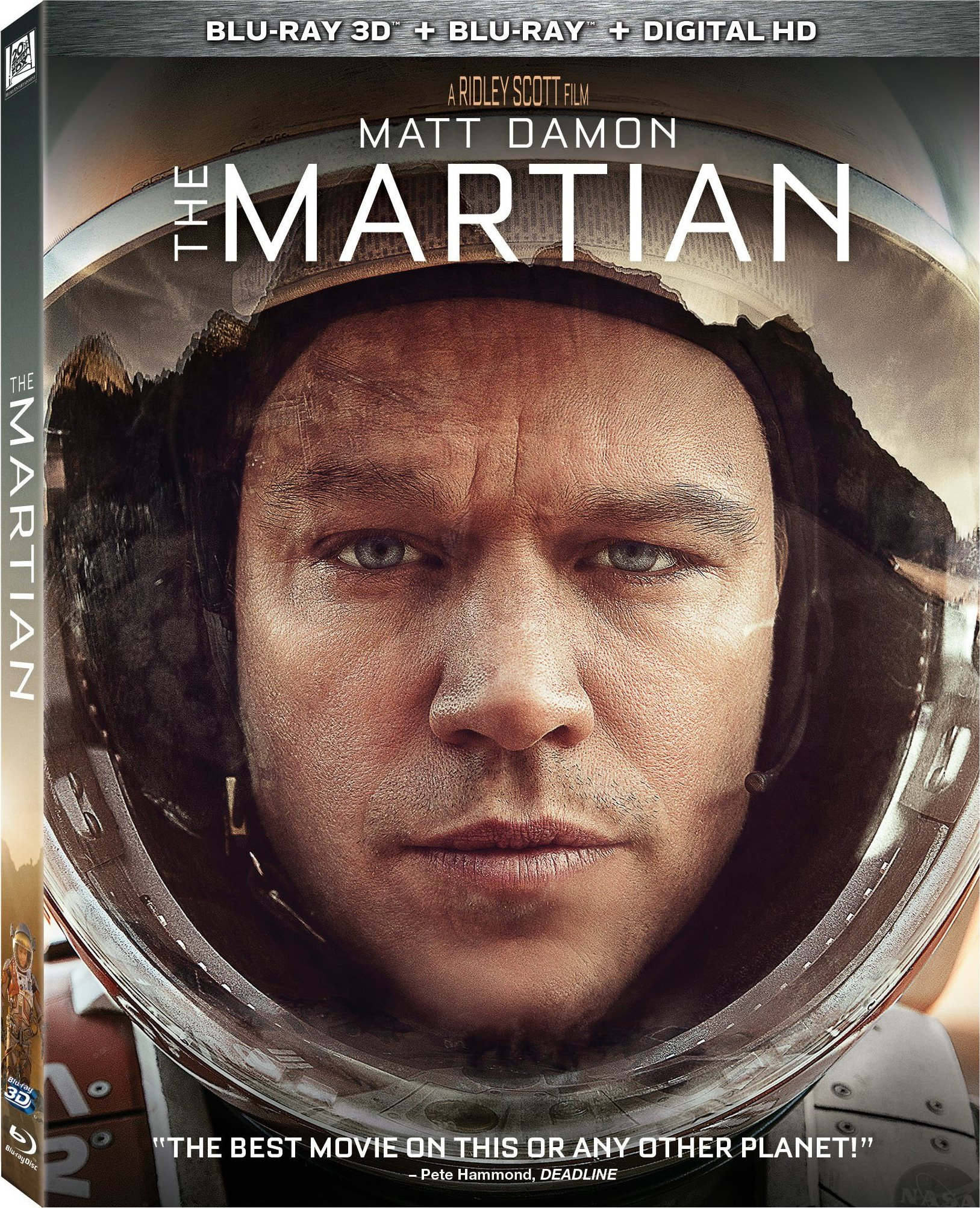 The Martian 3D (2015) Blu-ray