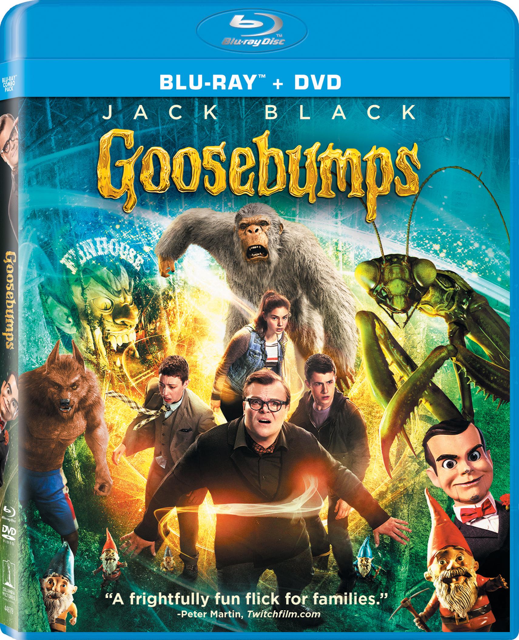 Goosebumps (2015) Blu-ray