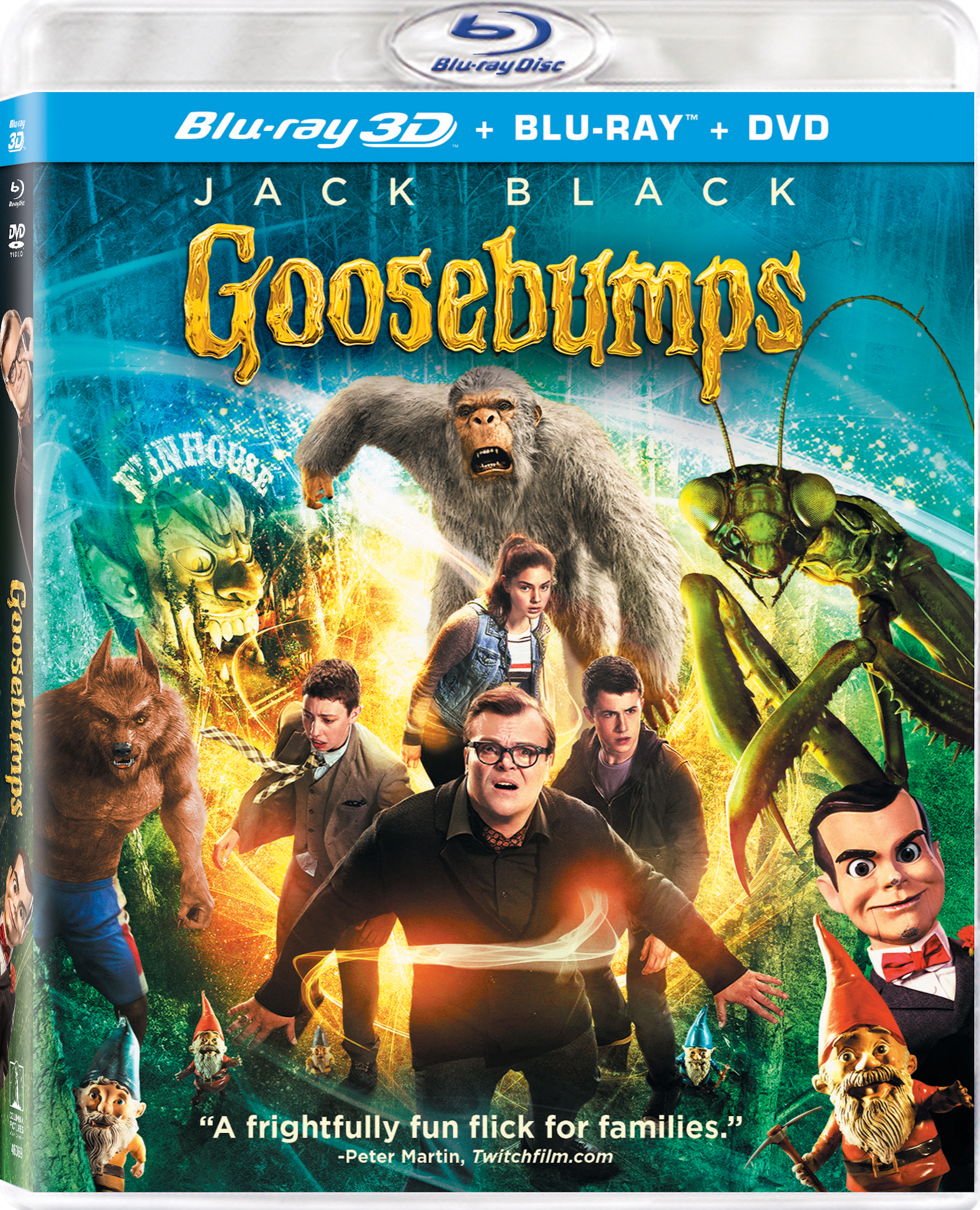 Goosebumps 3D (2015) Blu-ray