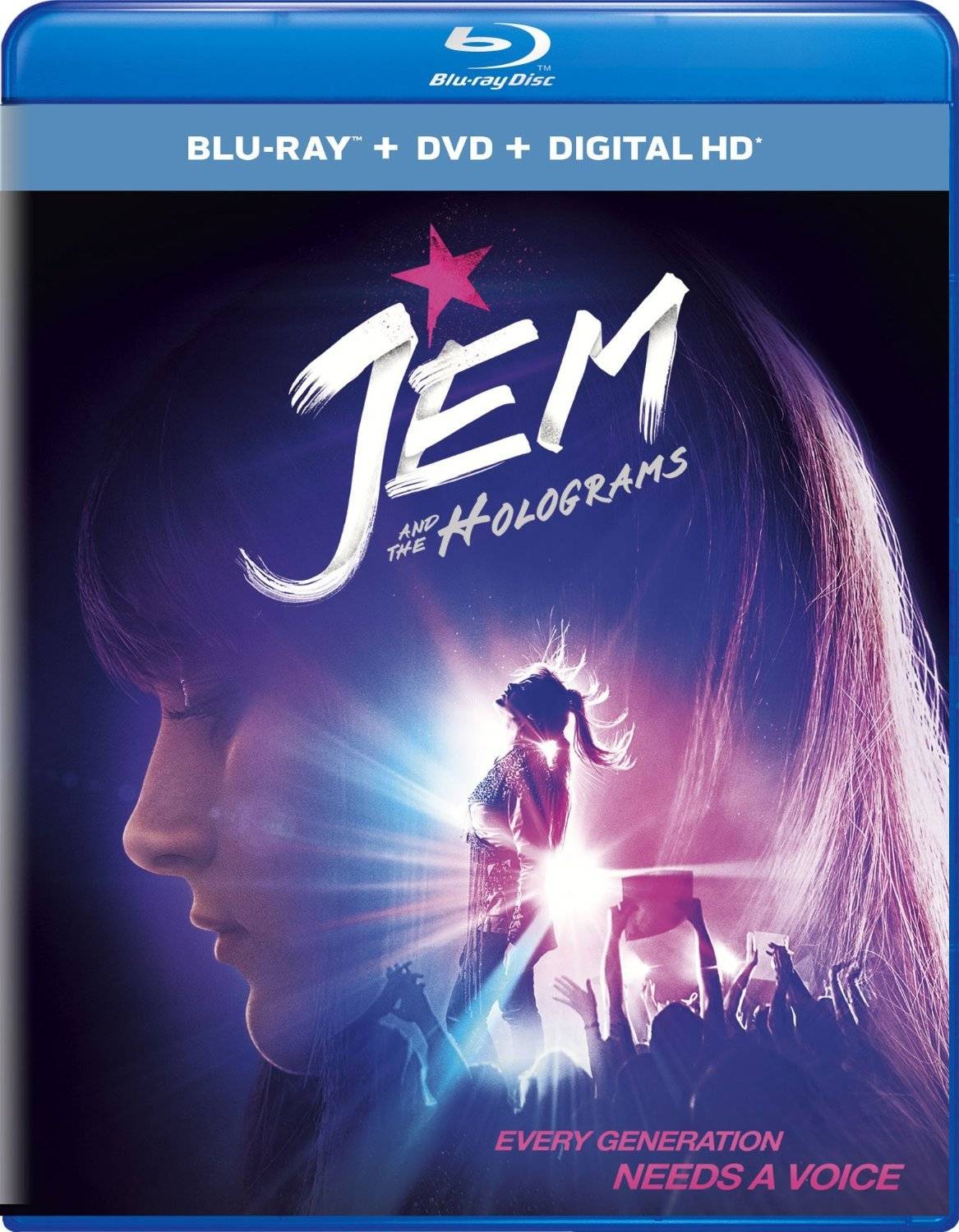 Jem and the Holograms (2015) Blu-ray