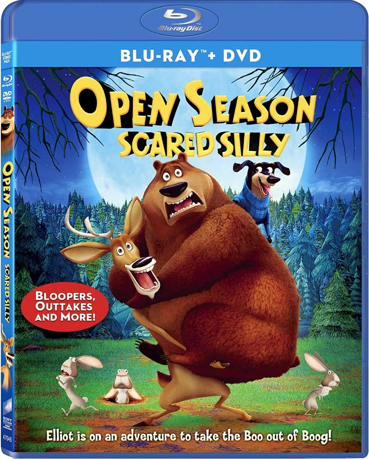 Open Season: Scared Silly (2016) Blu-ray
