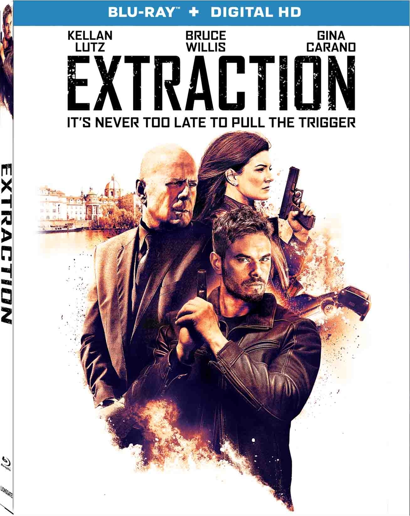 Extraction (2015) Blu-ray