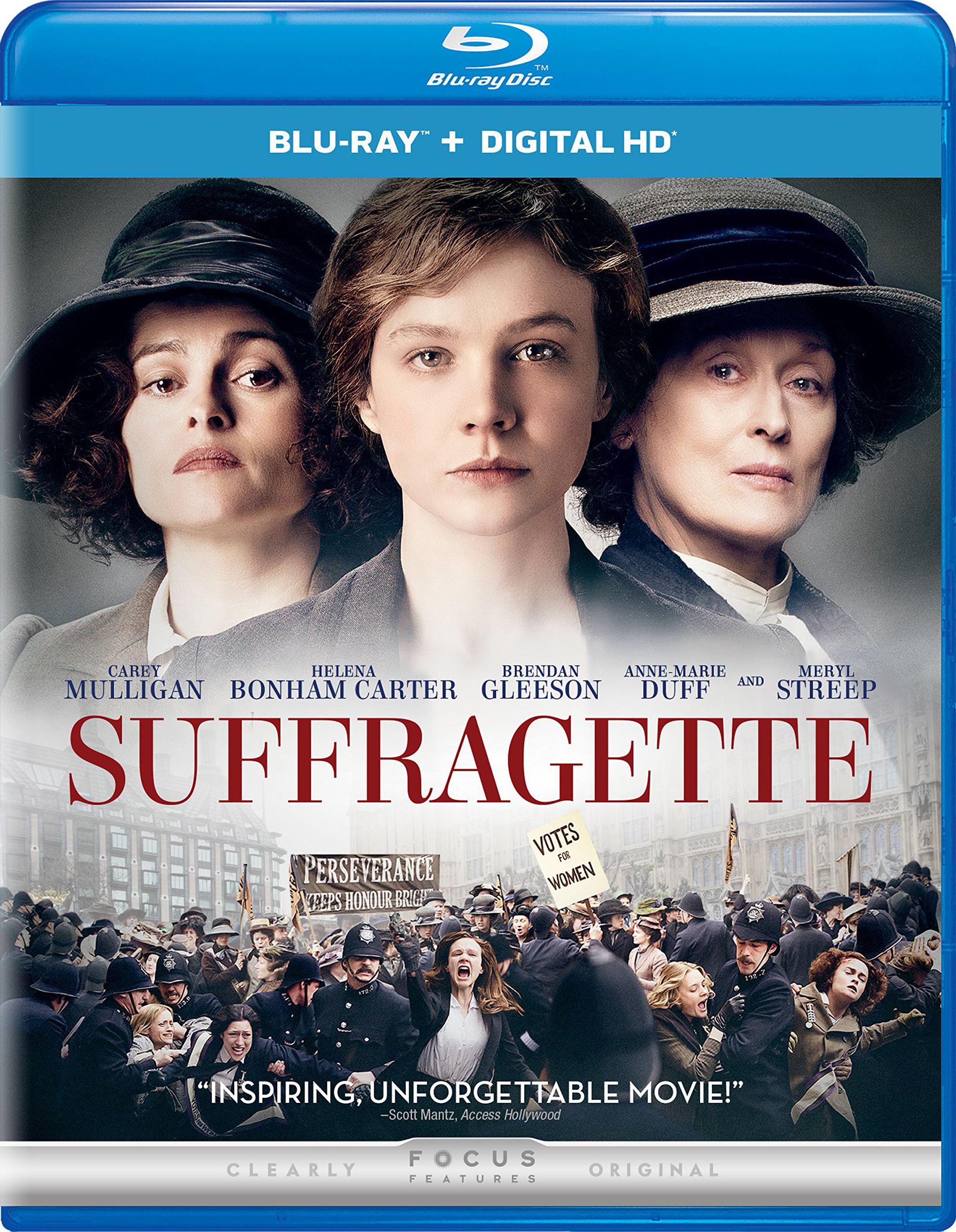 Suffragette (2015) Blu-ray