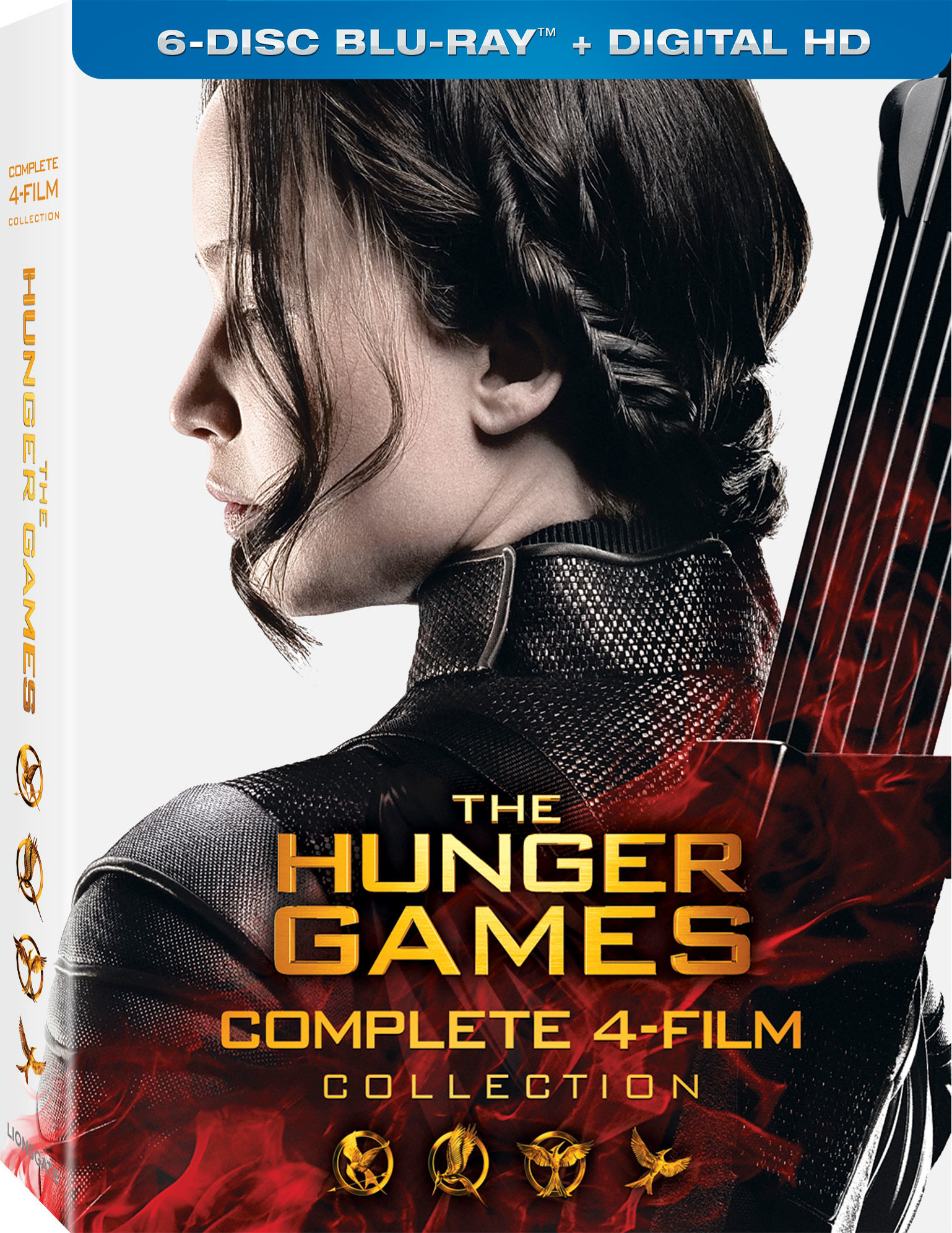 The Hunger Games 4-Film Complete Collection (2012-2015) Blu-ray