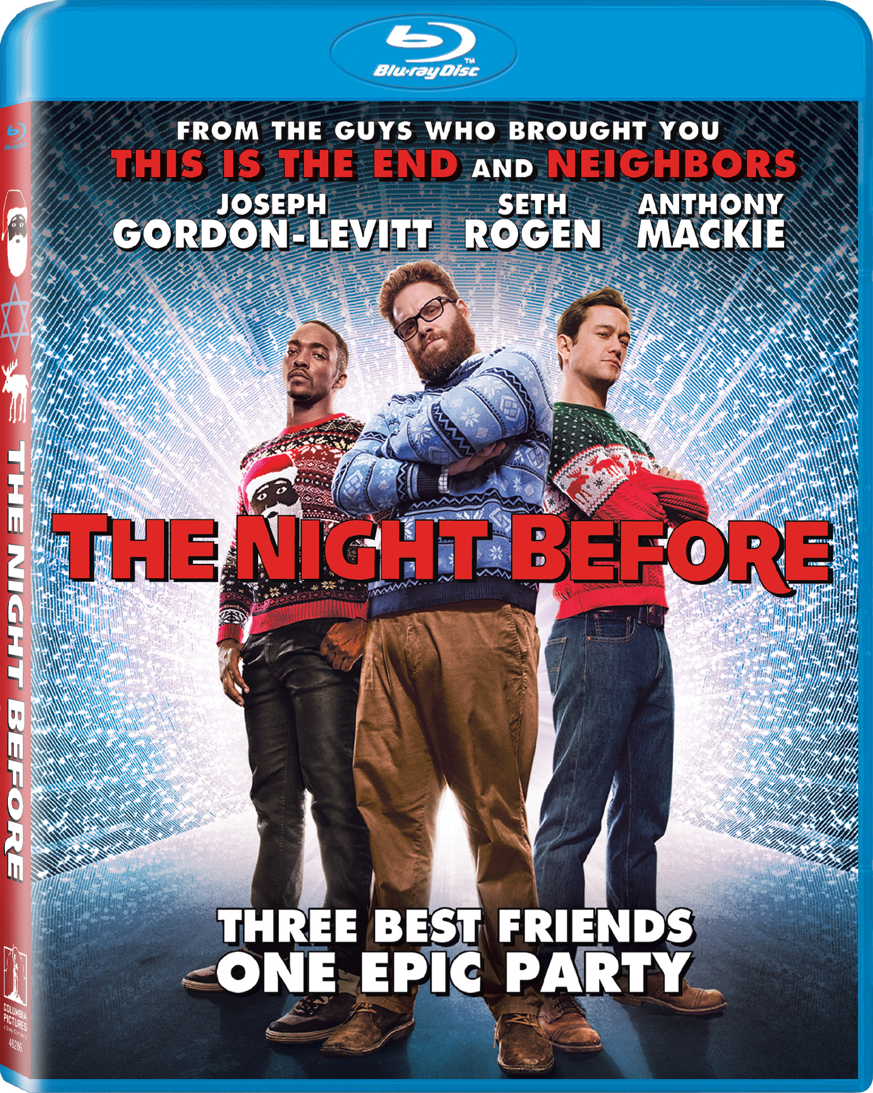 The Night Before (2015) Blu-ray