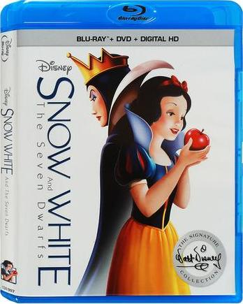 Snow White and the Seven Dwarfs (1937)(The Signature Collection) Blu-ray