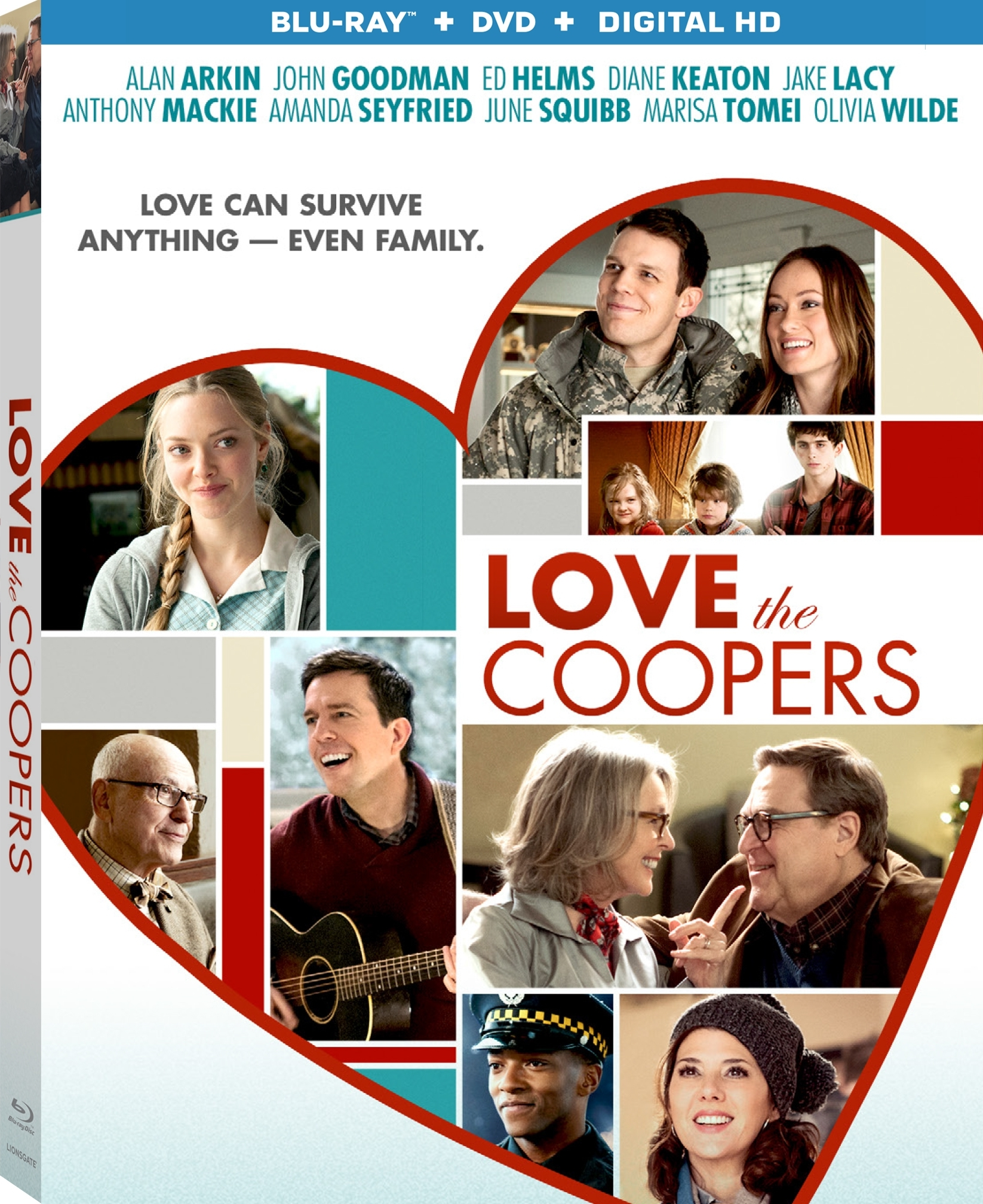 Love the Coopers (2015) Blu-ray