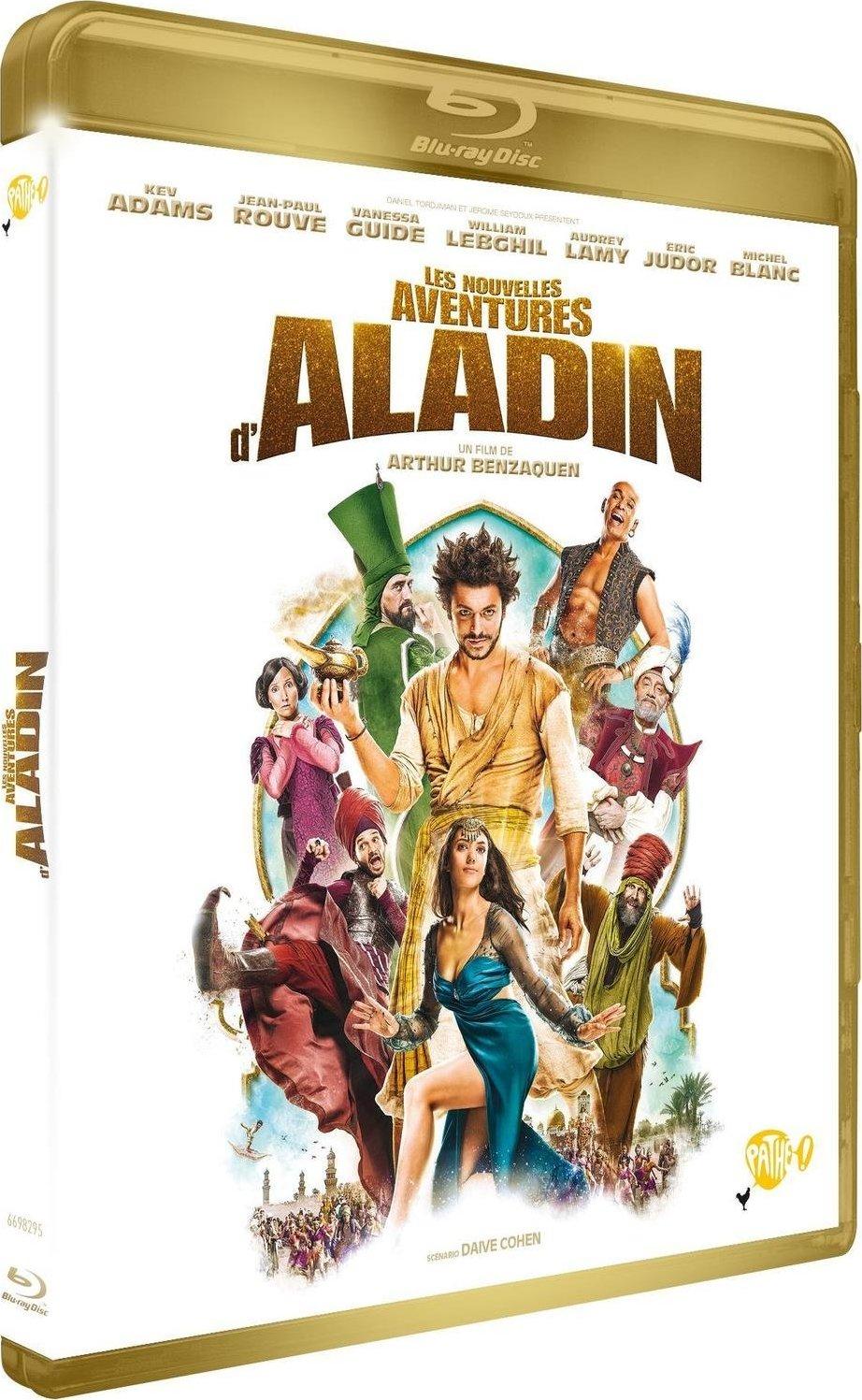 Les Nouvelles Aventures Daladin Blu Ray France Story Books Of Aladin