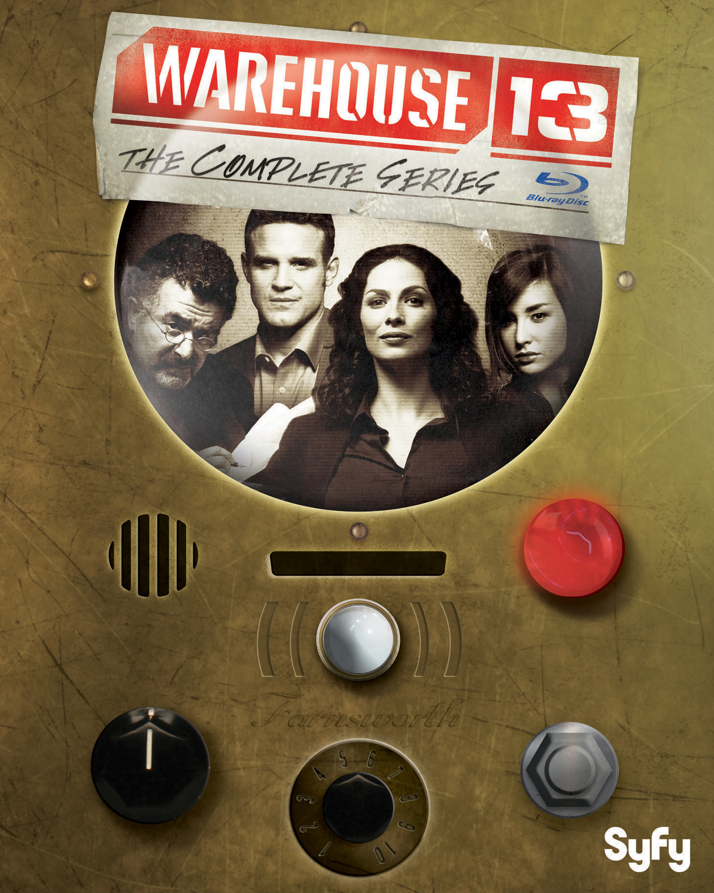 Warehouse 13: The Complete Series (TV) Blu-ray