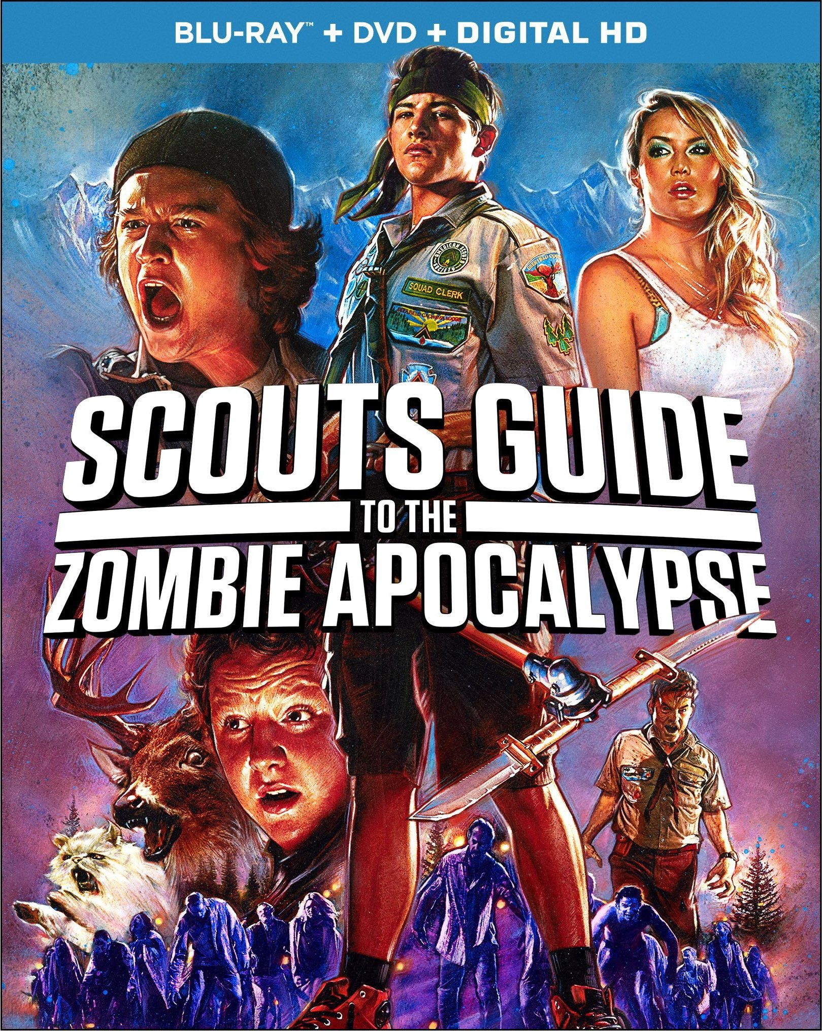 Scouts Guide to the Zombie Apocalypse (2015) Blu-ray