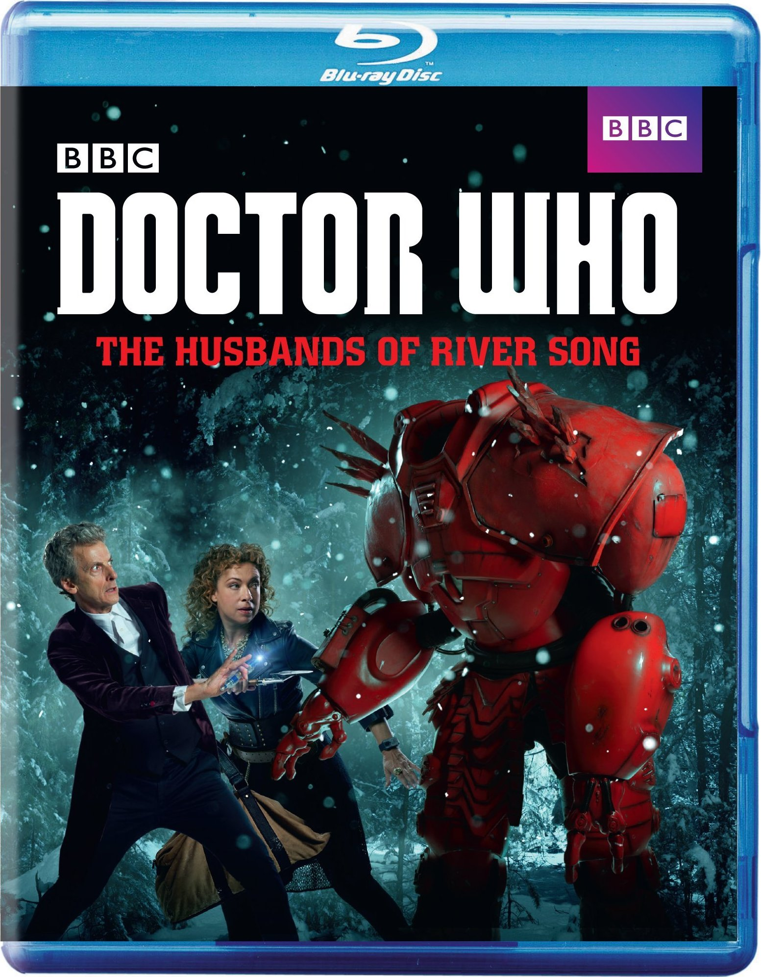 Doctor Who: The Husbands of River Song (TV) (2016) Blu-ray