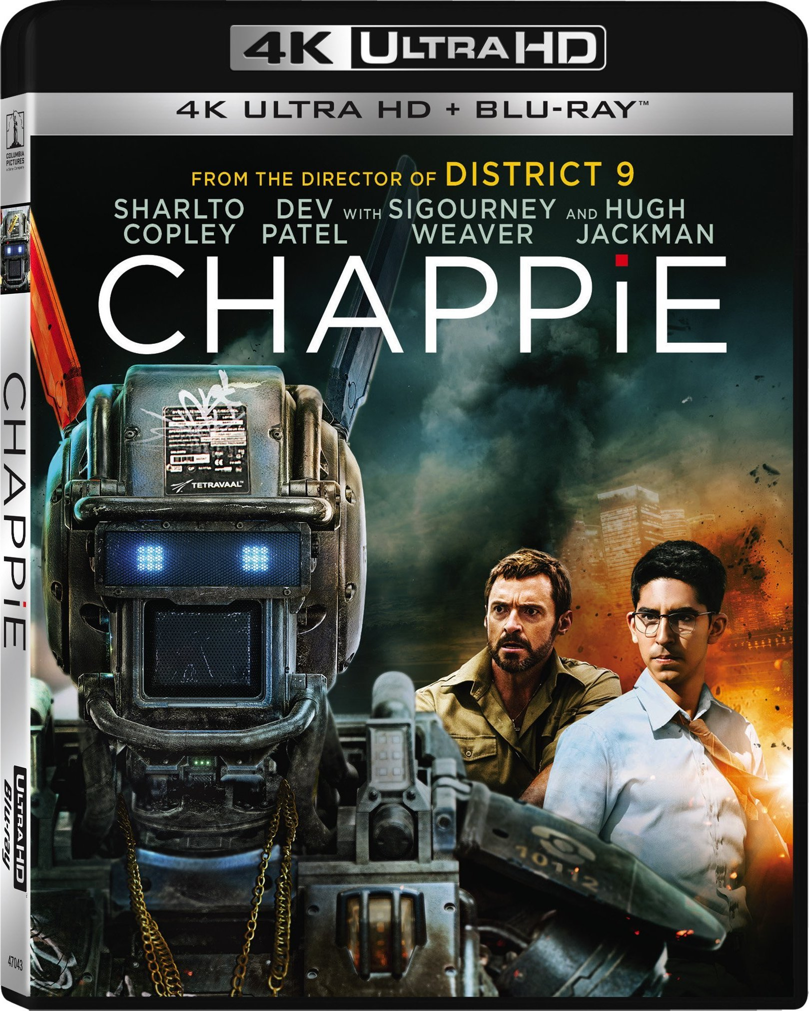 Chappie (2015) 4K Ultra HD Blu-ray