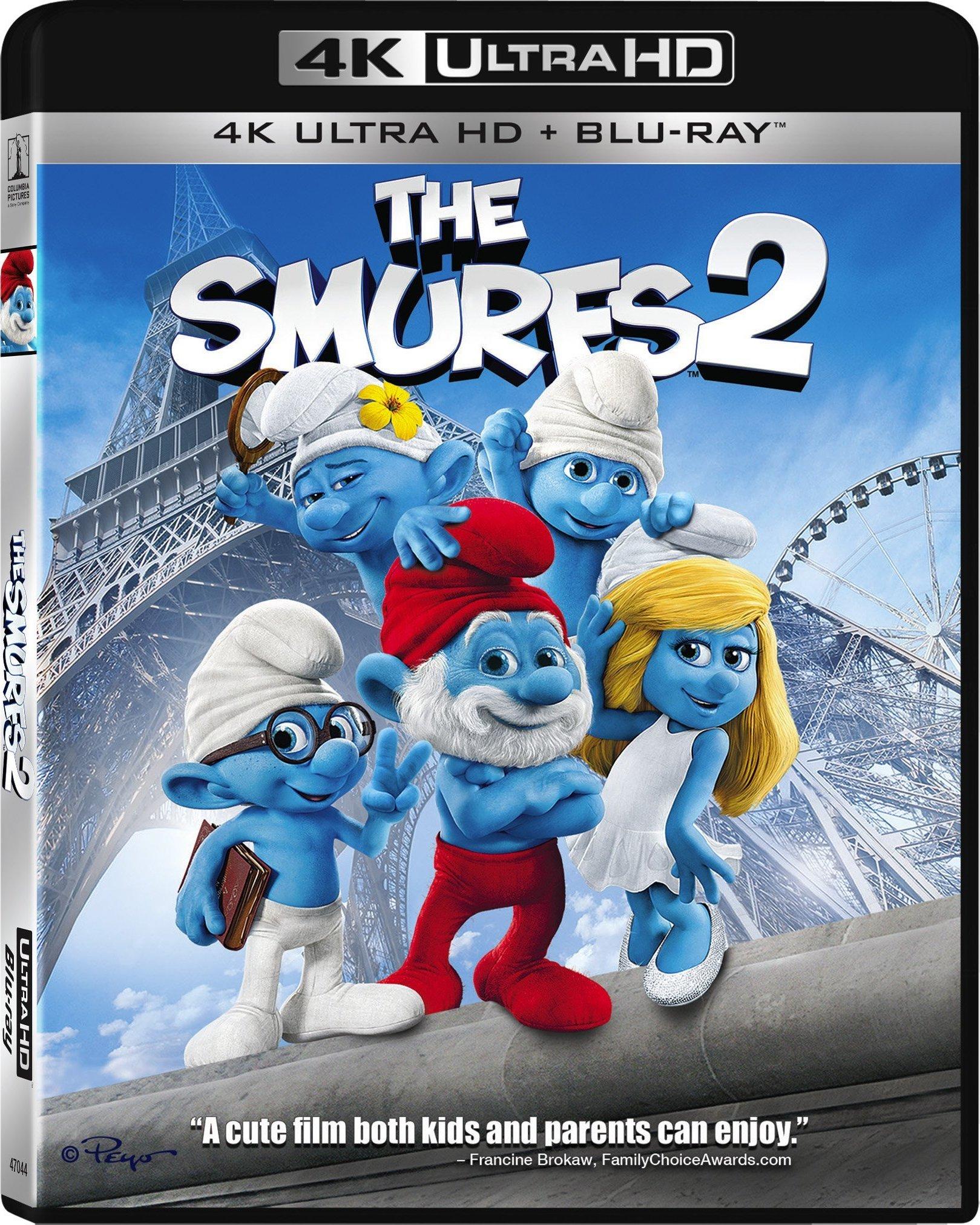The Smurfs 2 2013 4k Ultra Hd Blu Ray