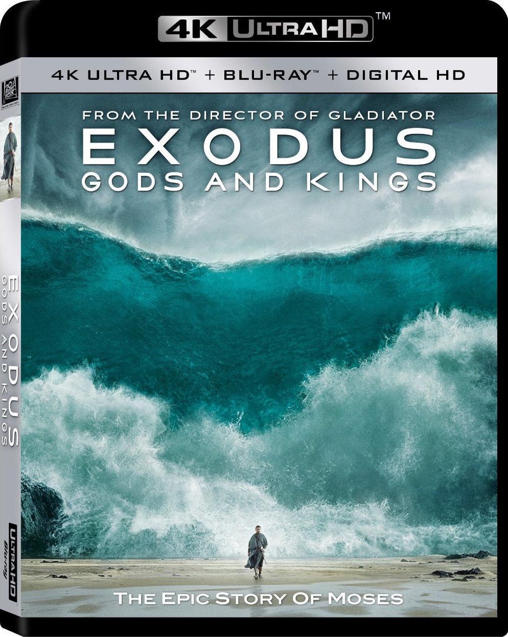 Exodus: Gods and Kings (2014) 4K Ultra HD Blu-ray