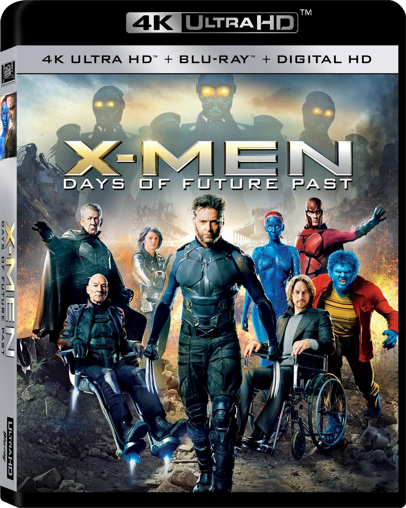 X-Men: Days of Future Past 4K (2014) 4K Ultra HD Blu-ray