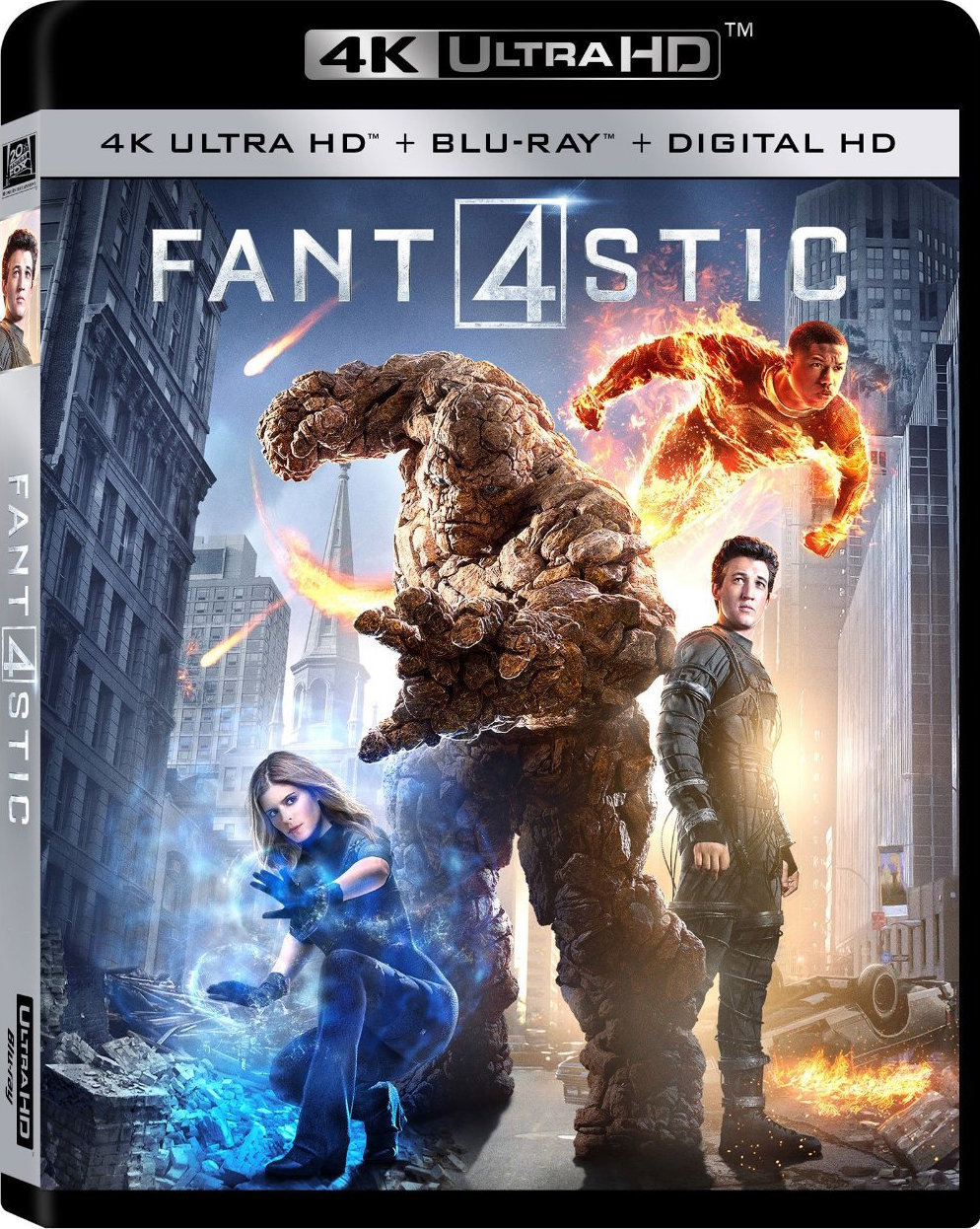 Fantastic 4 (2015) 4K Ultra HD Blu-ray