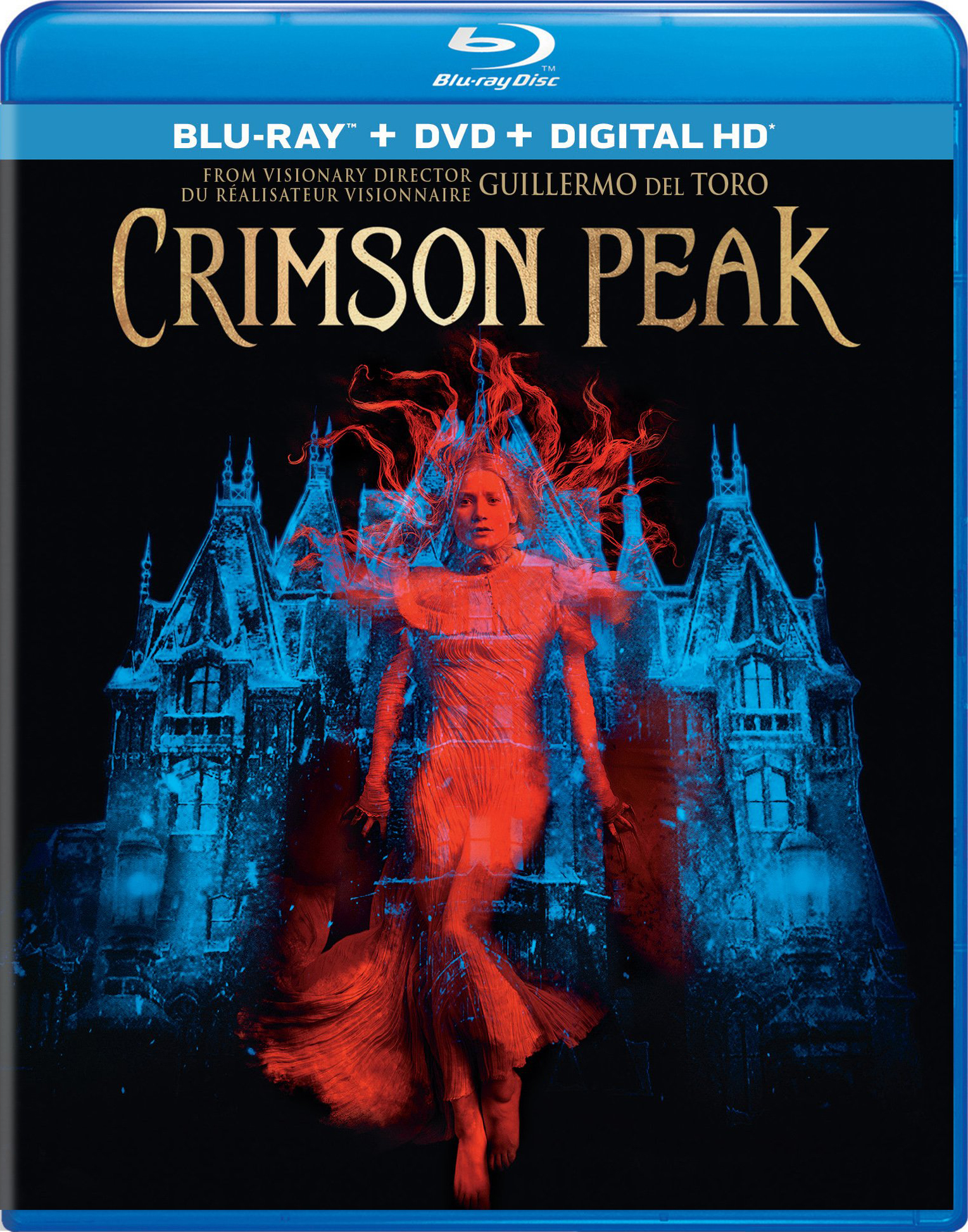 Crimson Peak (2015) Blu-ray