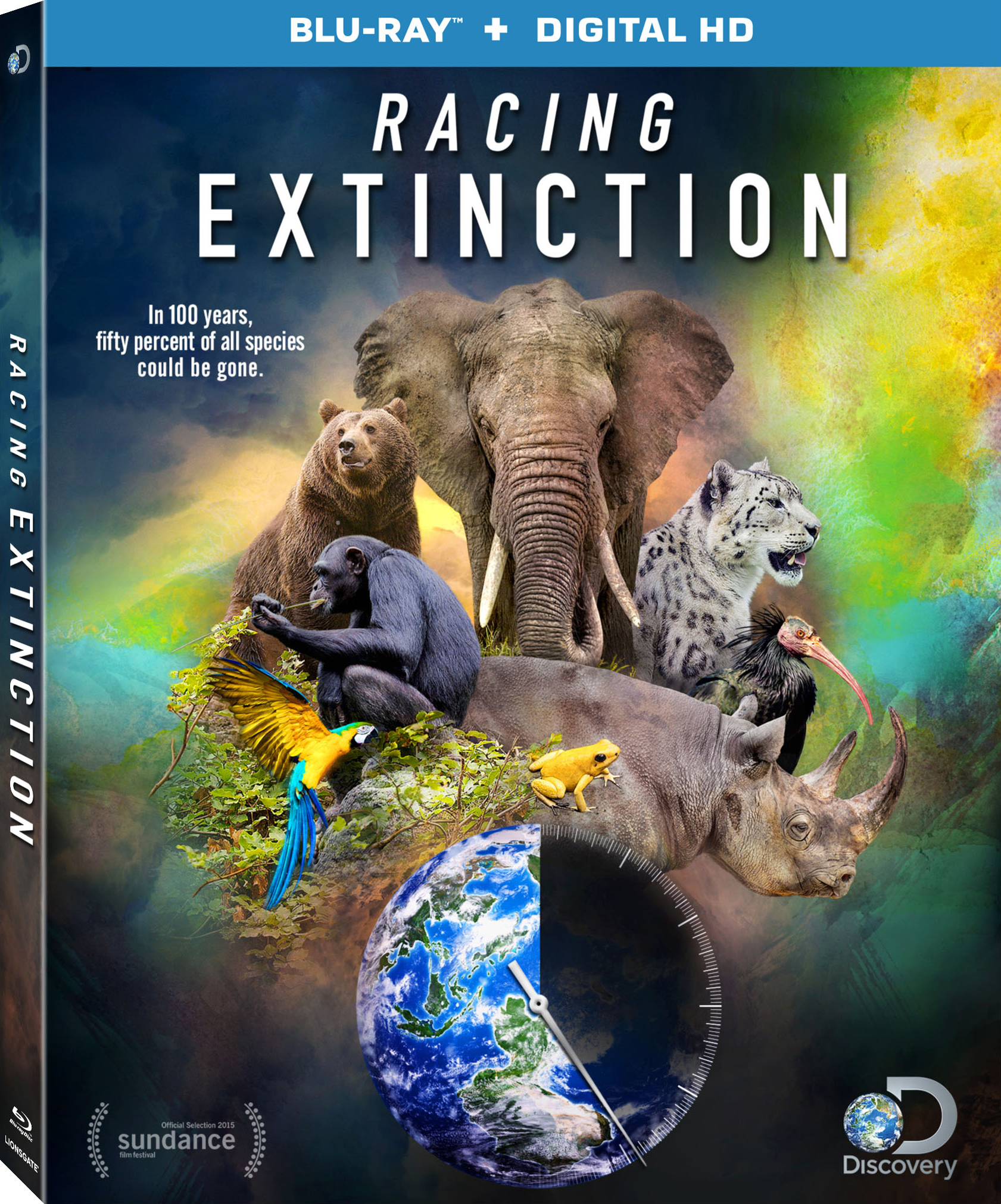 Racing Extinction (2015) Blu-ray