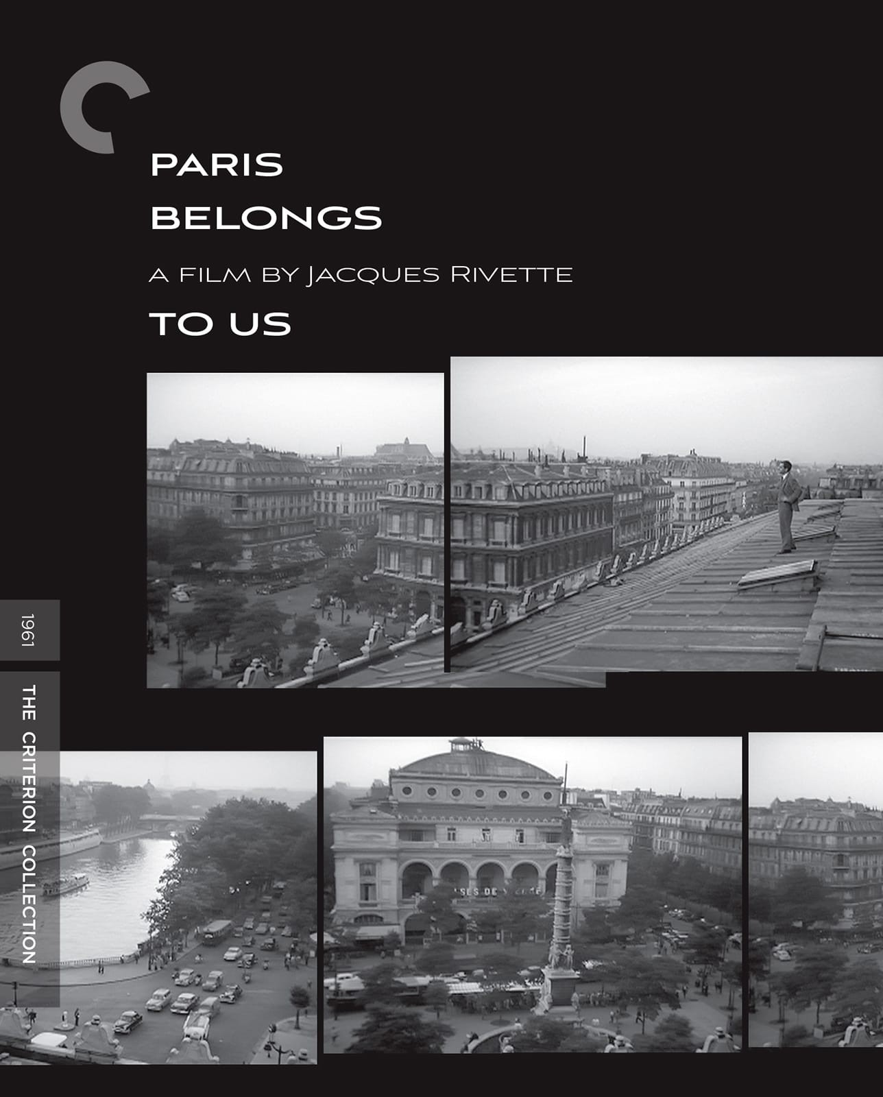 Paris Belongs to Us (1961)(The Criterion Collection) Blu-ray