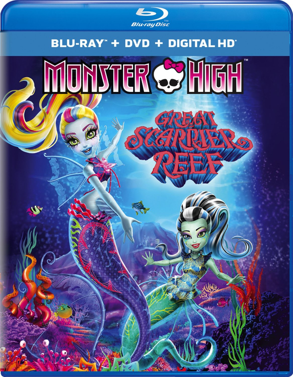 Monster High: Great Scarrier Reef (TV) (2016) Blu-ray