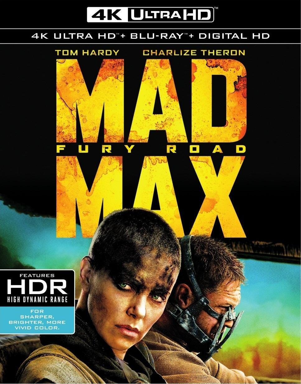 Mad Max: Fury Road (2015) 4K Ultra HD Blu-ray