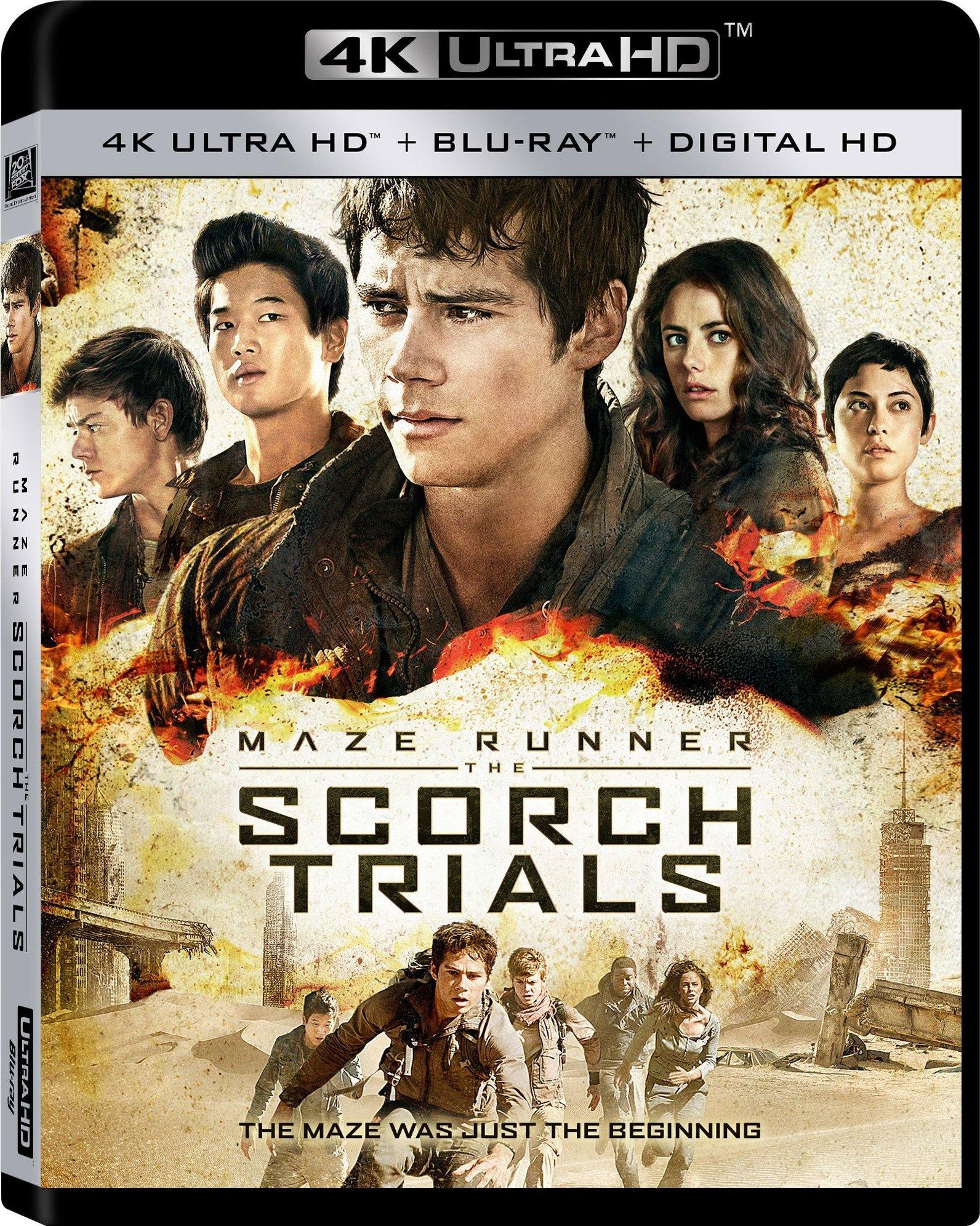 Maze Runner: The Scorch Trials (2015) 4K Ultra HD Blu-ray